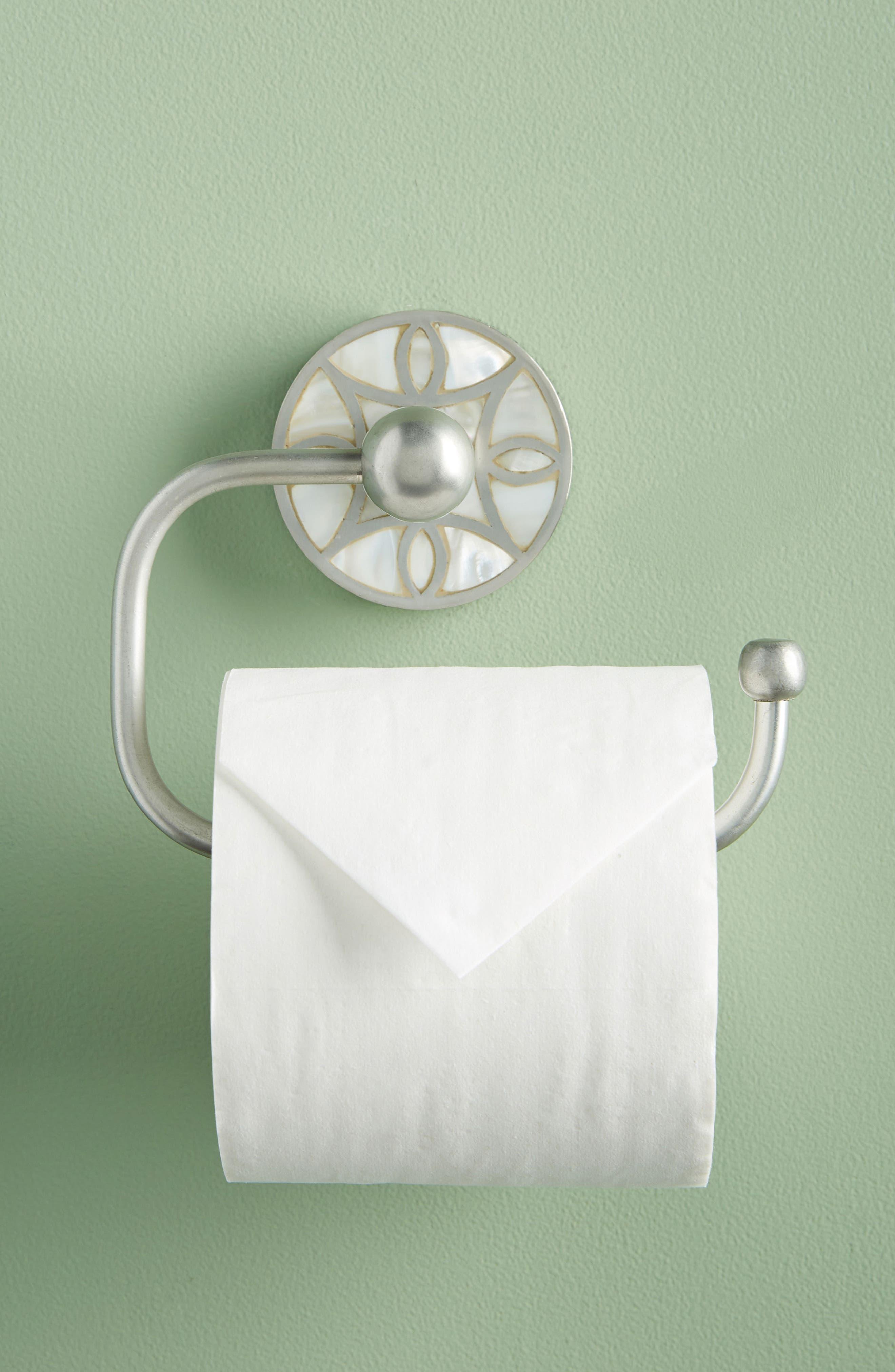 Launis Toilet Paper Holder,                             Alternate thumbnail 6, color,                             GREY