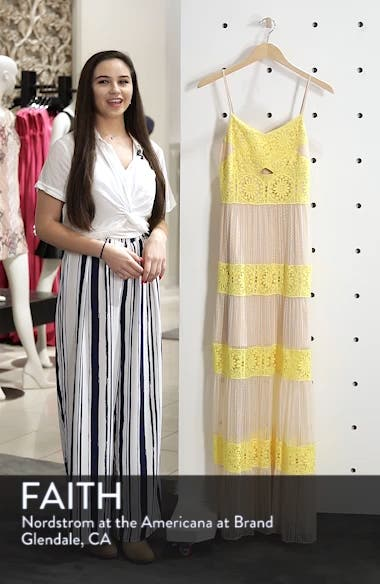 Mia Two-Tone Lace Gown, sales video thumbnail