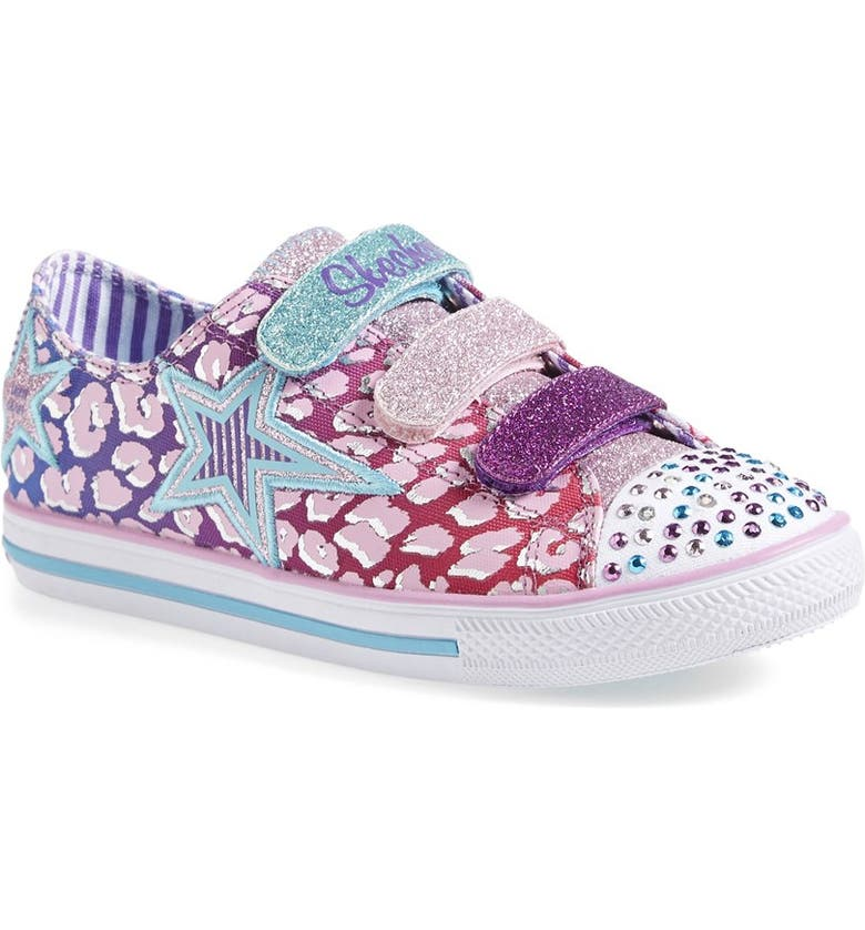 SKECHERS  Twinkle Toes - Chit Chat Prolifics  Light-Up Low Top Sneaker e054ceb8a