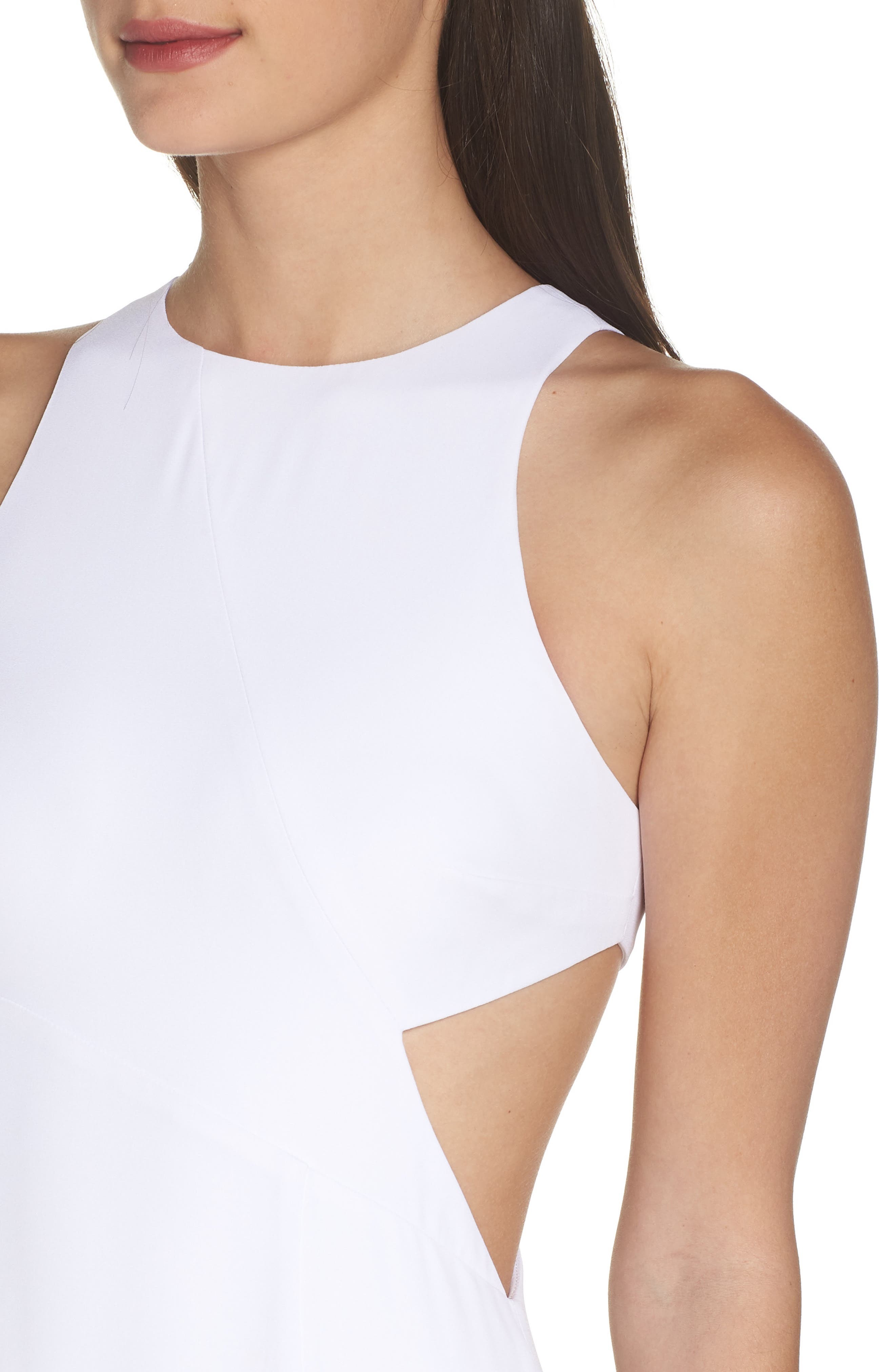Fame & Partners The Midheaven Gown,                             Alternate thumbnail 4, color,                             WHITE