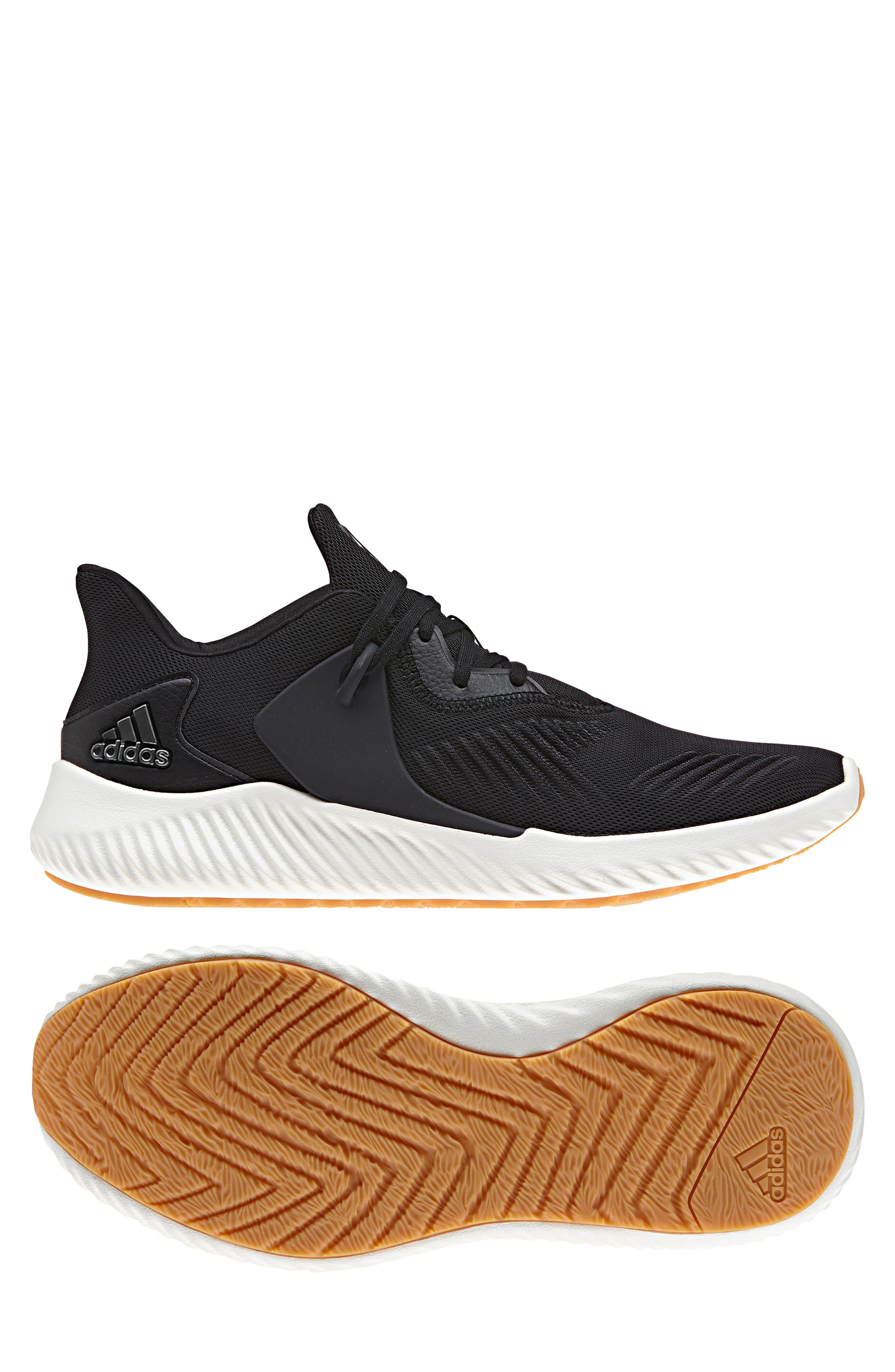 AlphaBounce RC 2 Running Shoe,                             Alternate thumbnail 9, color,                             CORE BLACK/ NIGHT/ CORE BLACK