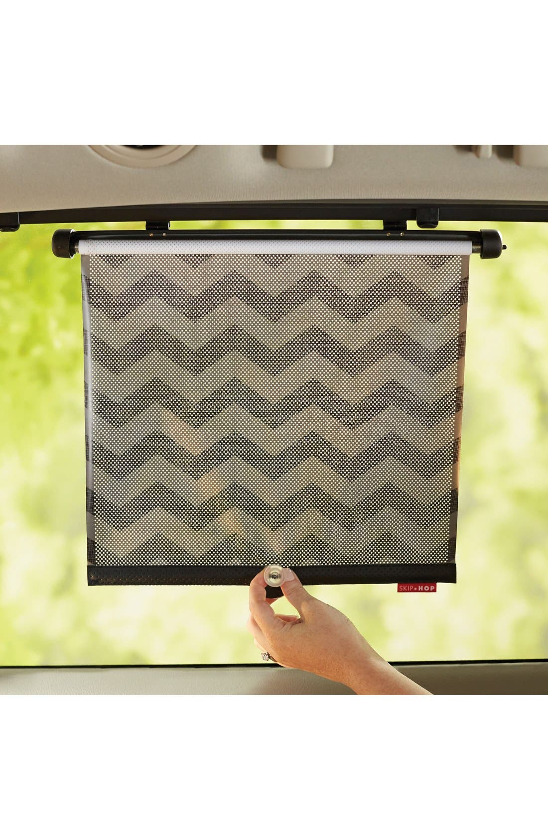 Car Window Shades,                         Main,                         color, DARK CHEVRON