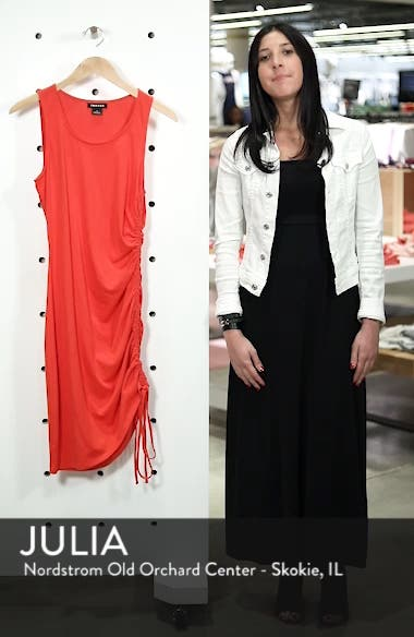 Side Shirred Body-Con Dress, sales video thumbnail