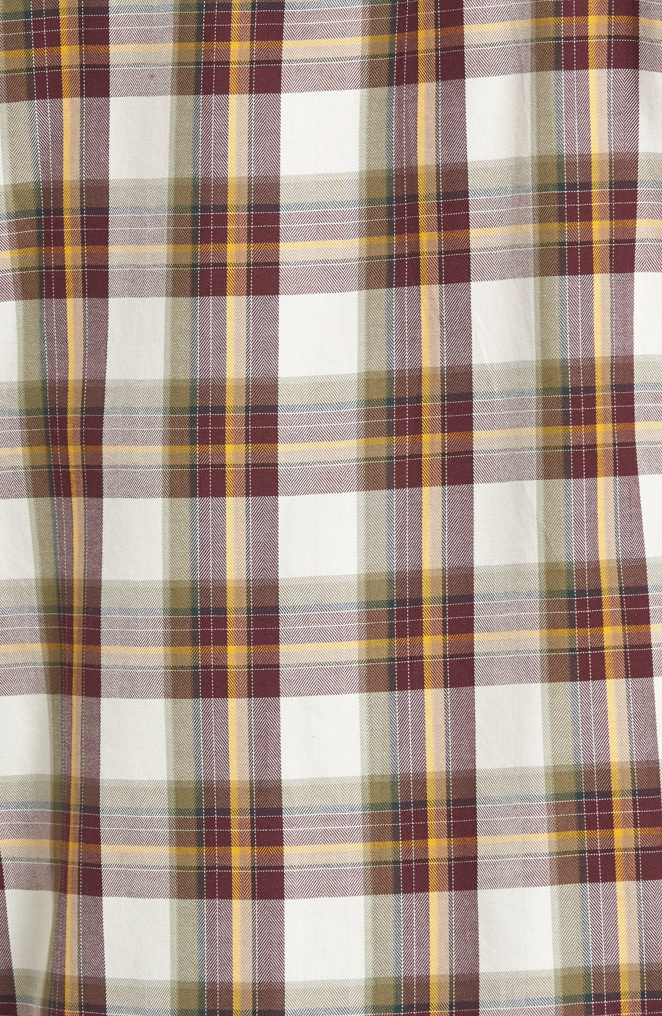 Seacliff Plaid Flannel Shirt,                             Alternate thumbnail 10, color,