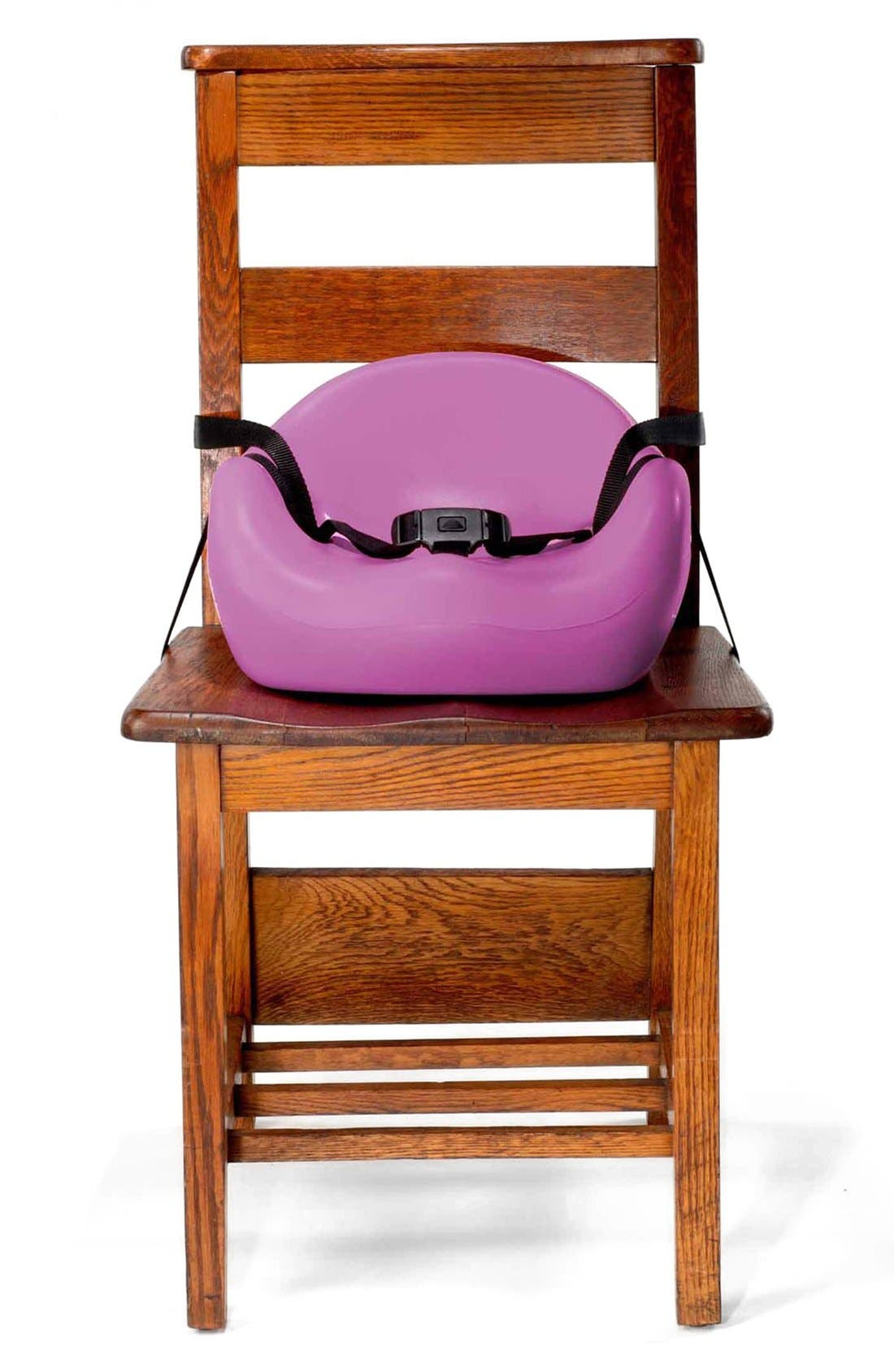 Café Booster Seat,                             Alternate thumbnail 6, color,                             RASPBERRY