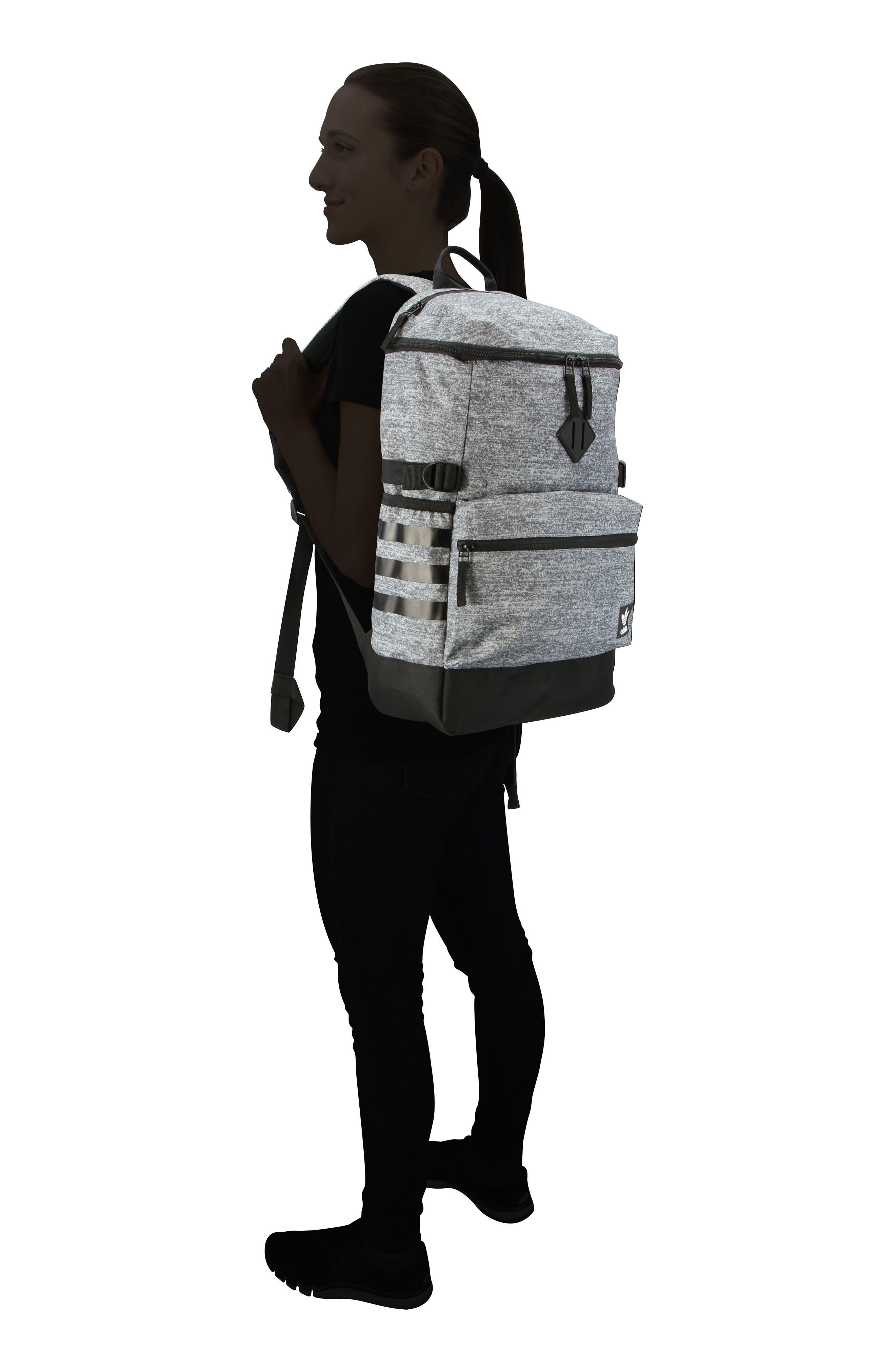 Backpack,                             Alternate thumbnail 2, color,                             MED GREY