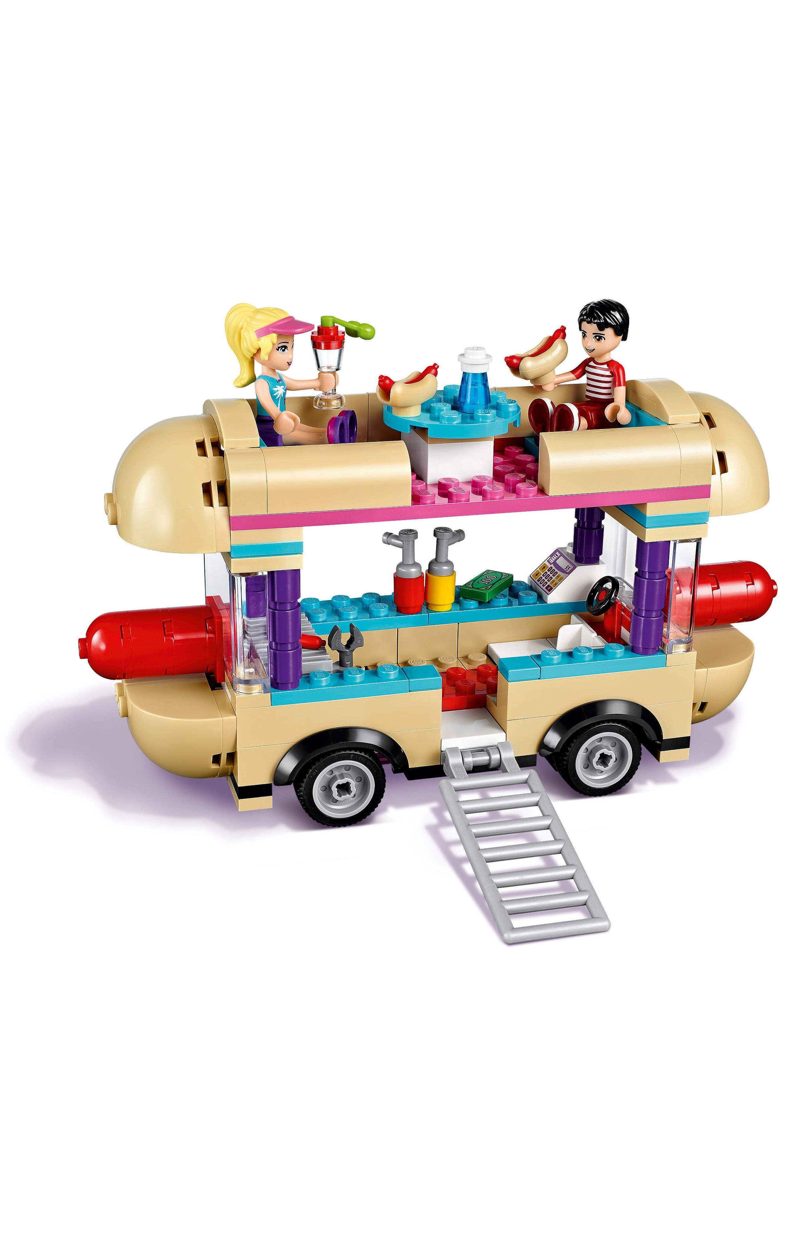 Friends Amusement Park Hot Dog Van - 41129,                             Alternate thumbnail 2, color,                             500