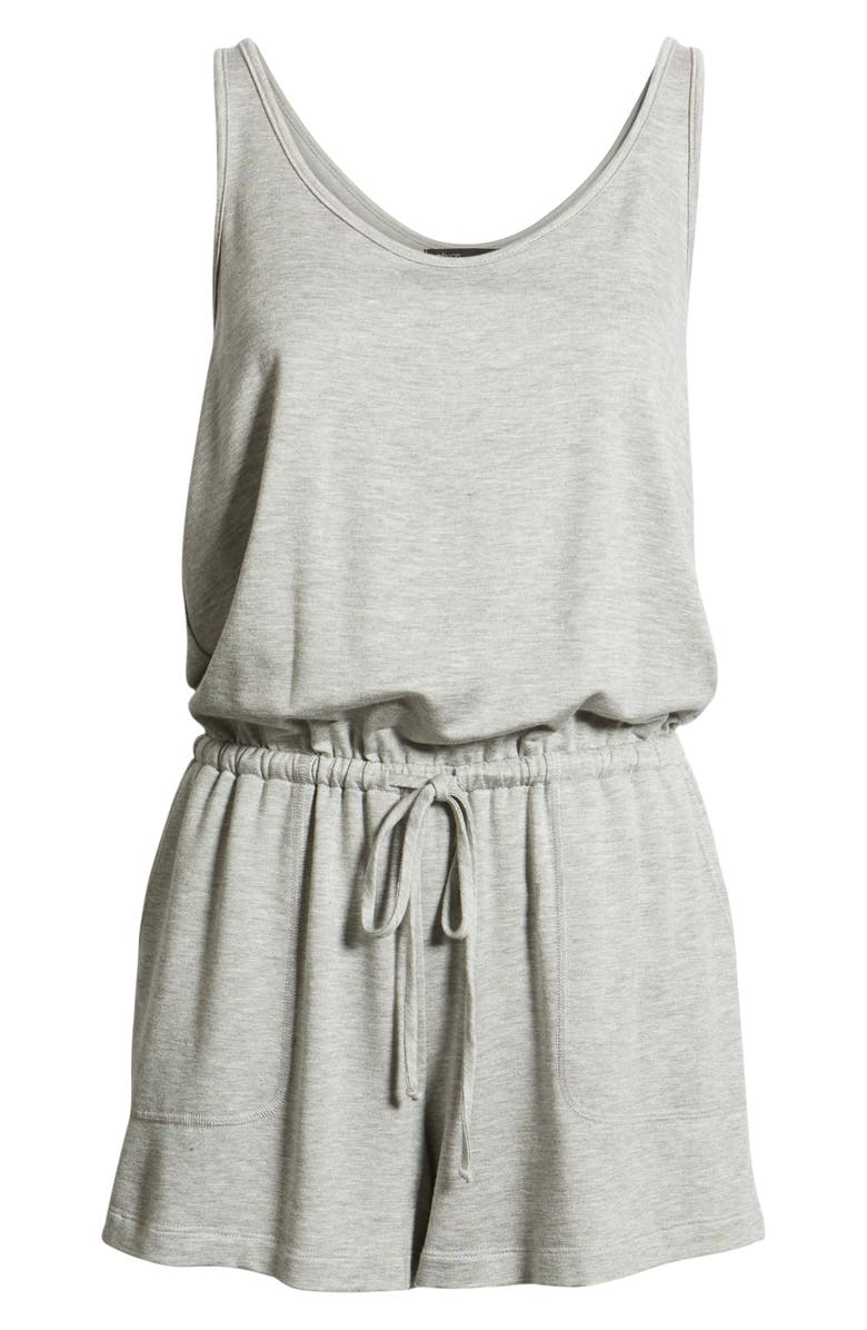 Gibson x Hi Sugarplum! Seaside Soft Jersey Lounge Romper (Regular   Petite)  (Nordstrom Exclusive)  e39bf5b5a