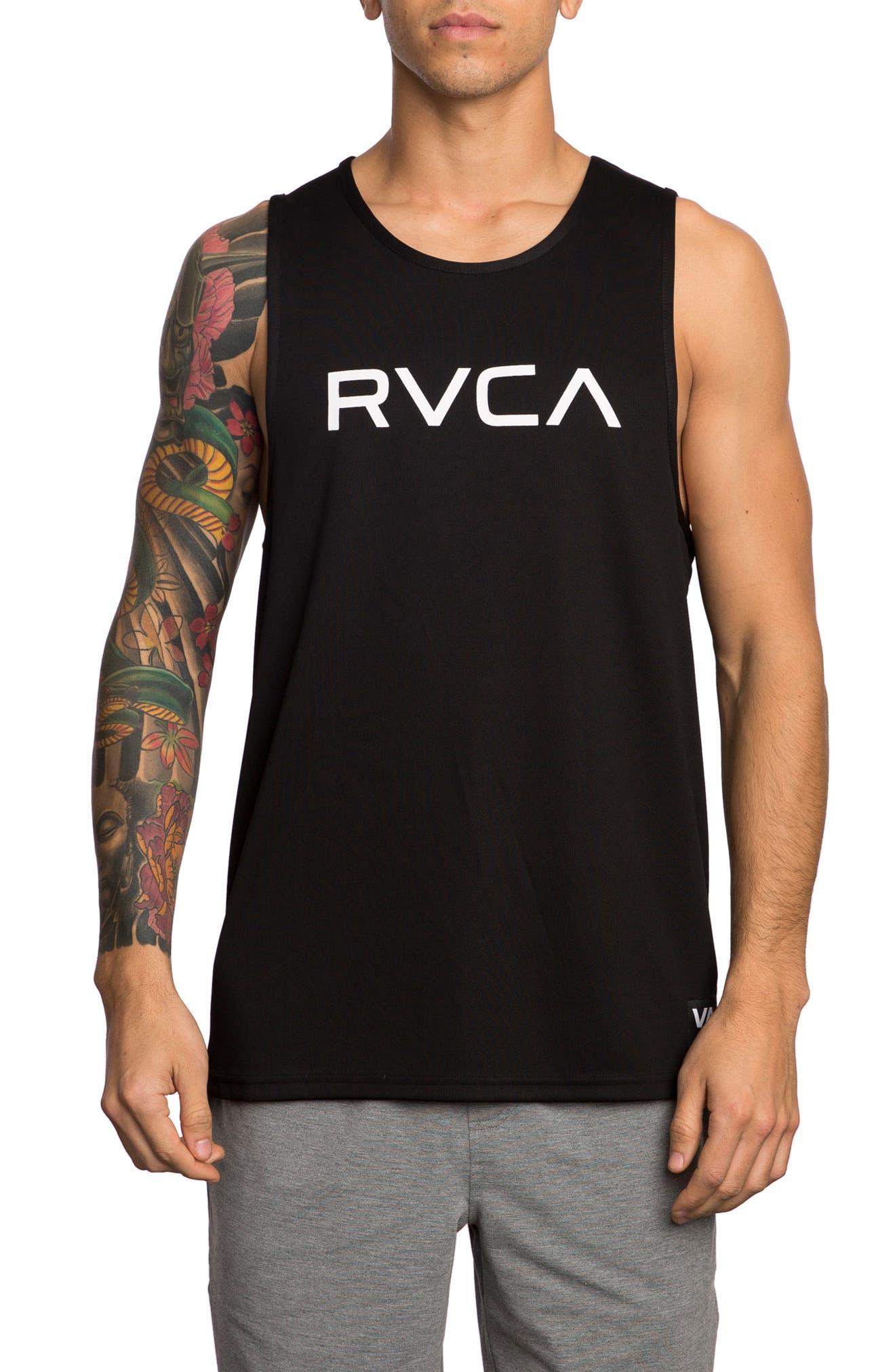Big RVCA Tank,                             Main thumbnail 1, color,                             001