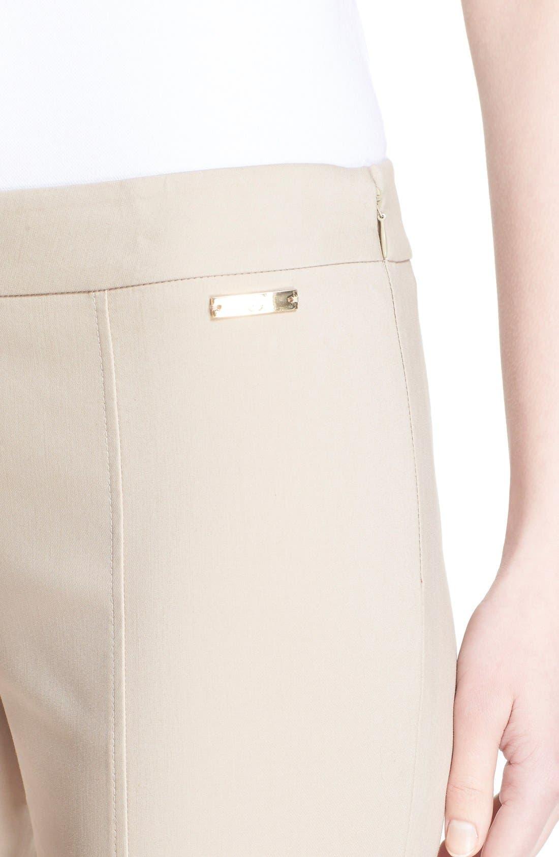 'Callie' Seamed Crop Pants,                             Alternate thumbnail 6, color,