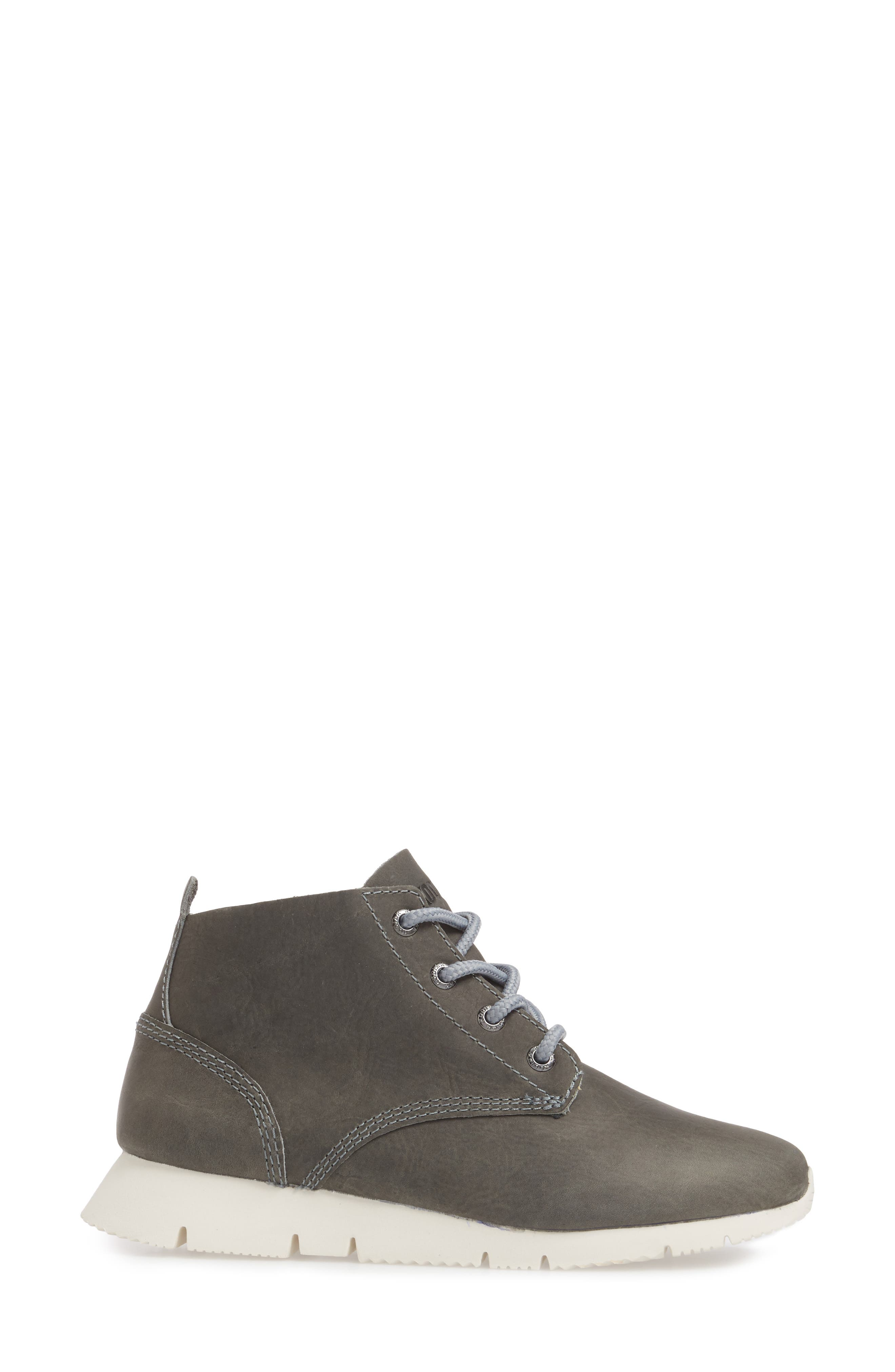 Chukka Boot,                             Alternate thumbnail 3, color,                             GREY LEATHER
