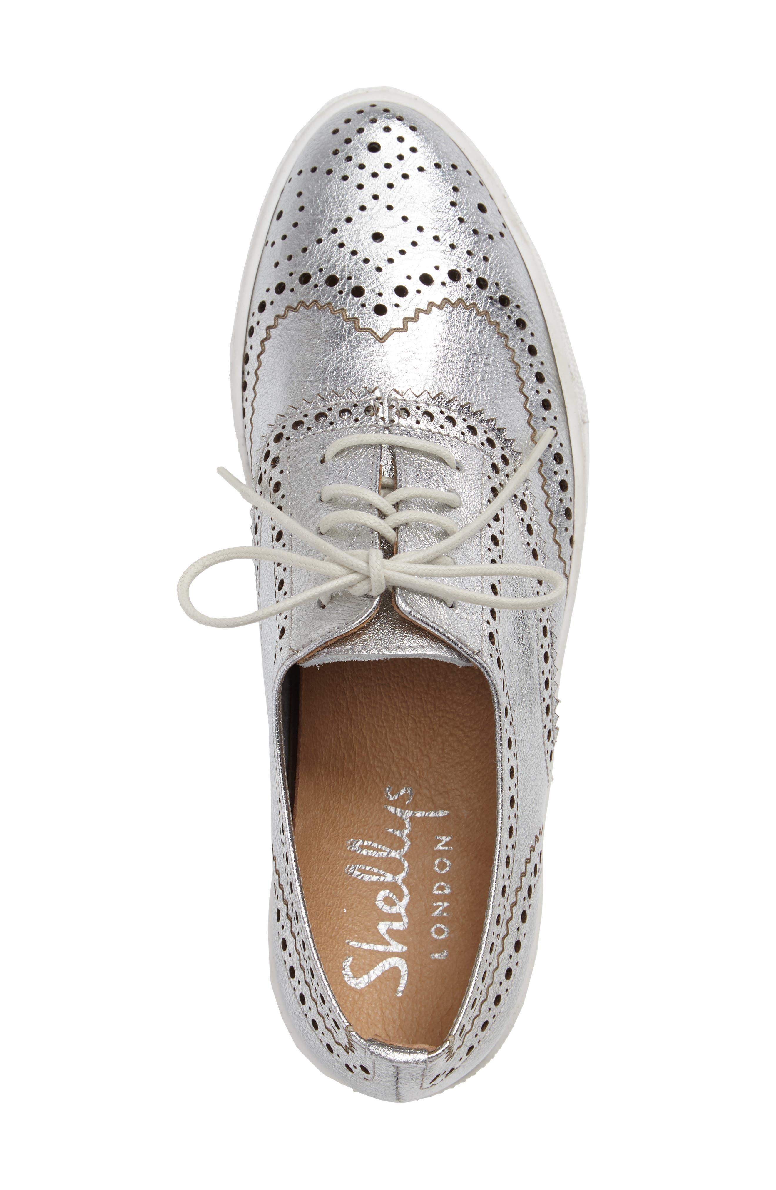 Kimmie Perforated Platform Sneaker,                             Alternate thumbnail 10, color,