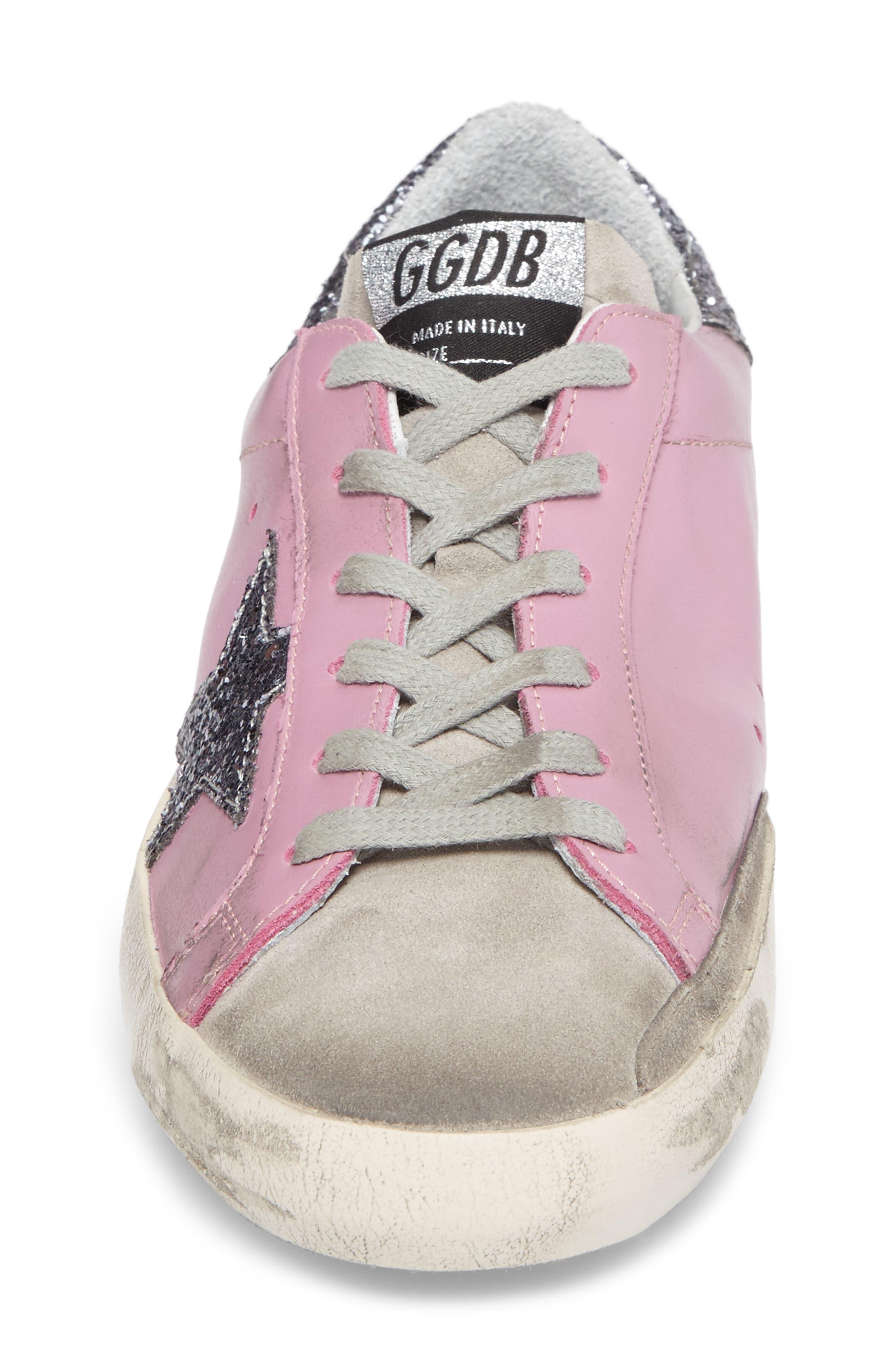 Superstar Low Top Sneaker,                             Alternate thumbnail 4, color,                             650