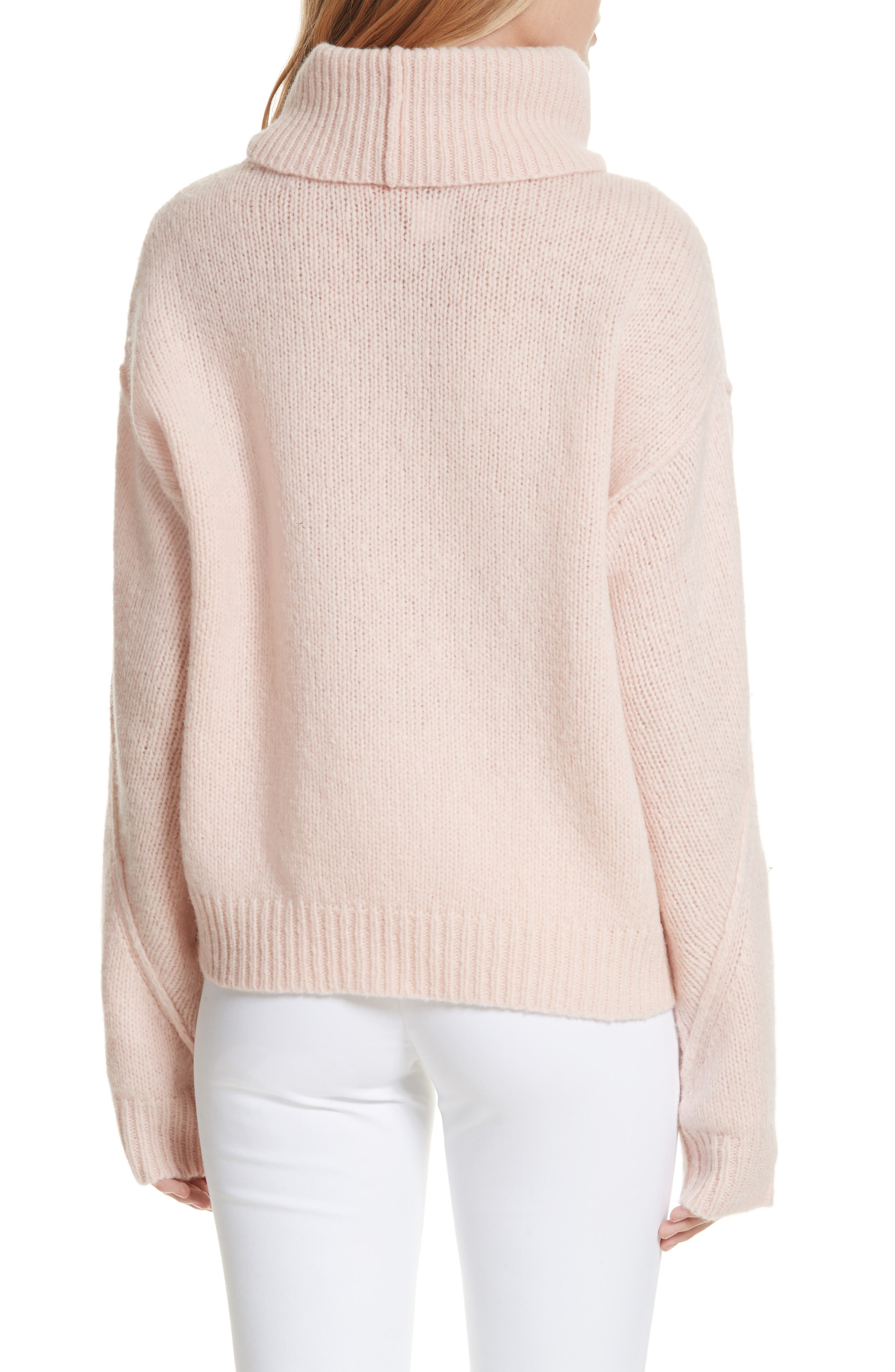 Eva Sweater with Removable Turtleneck,                             Alternate thumbnail 2, color,                             650