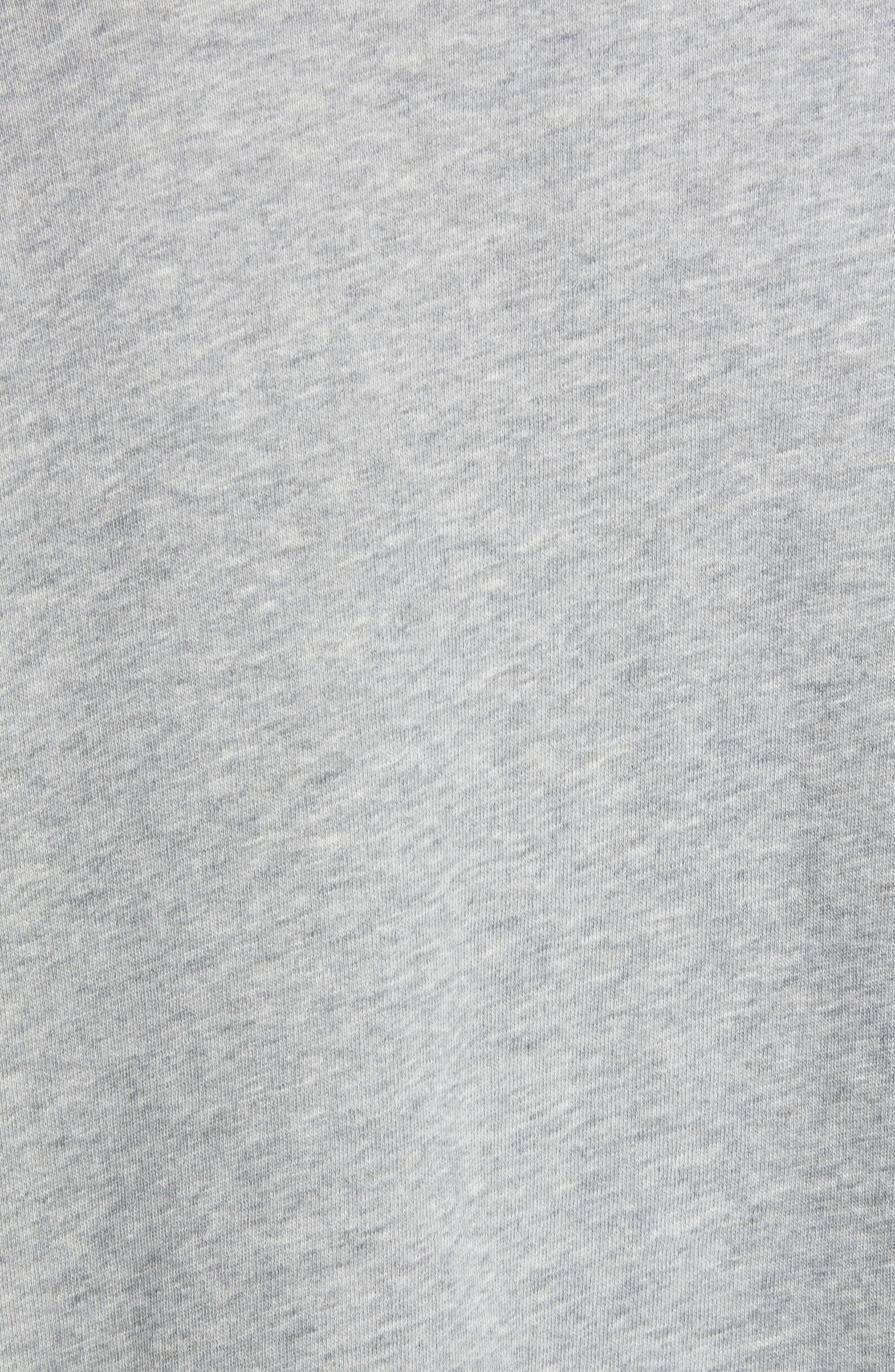 Alexa Stars Sweatshirt,                             Alternate thumbnail 5, color,                             GREY