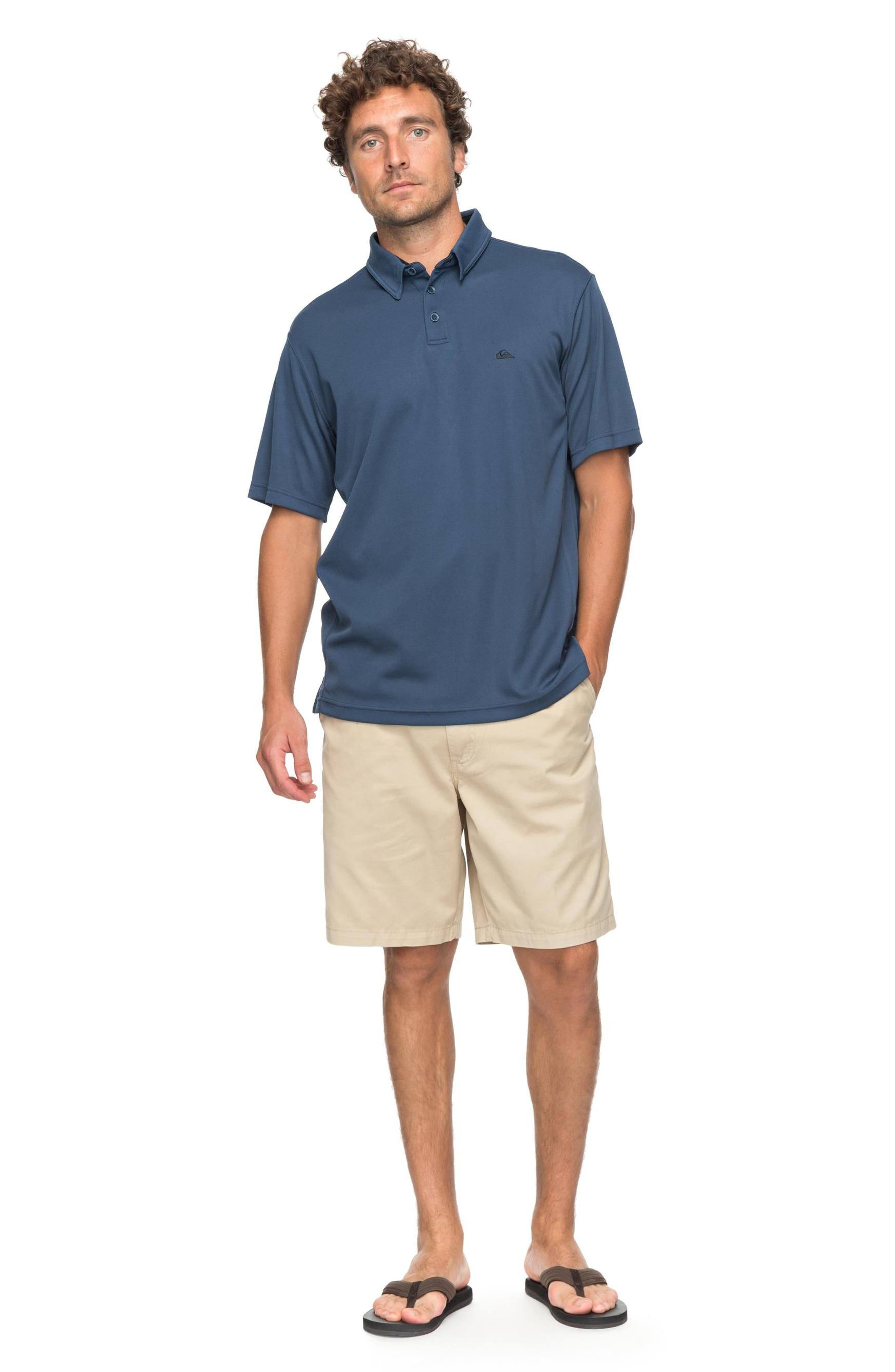 Water 2 Technical Polo Shirt,                             Alternate thumbnail 5, color,