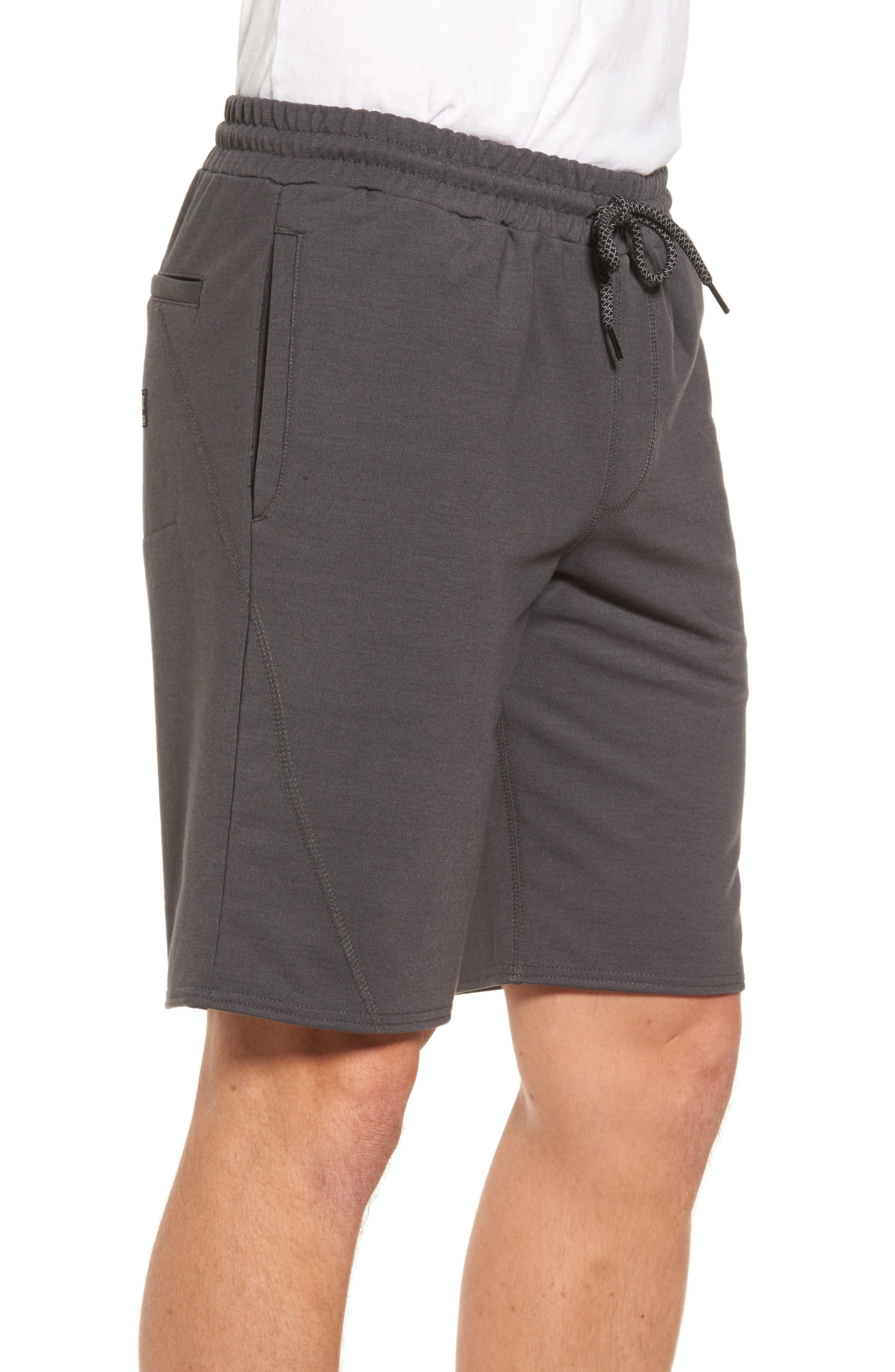 Traveler Fleece Shorts,                             Alternate thumbnail 3, color,                             020