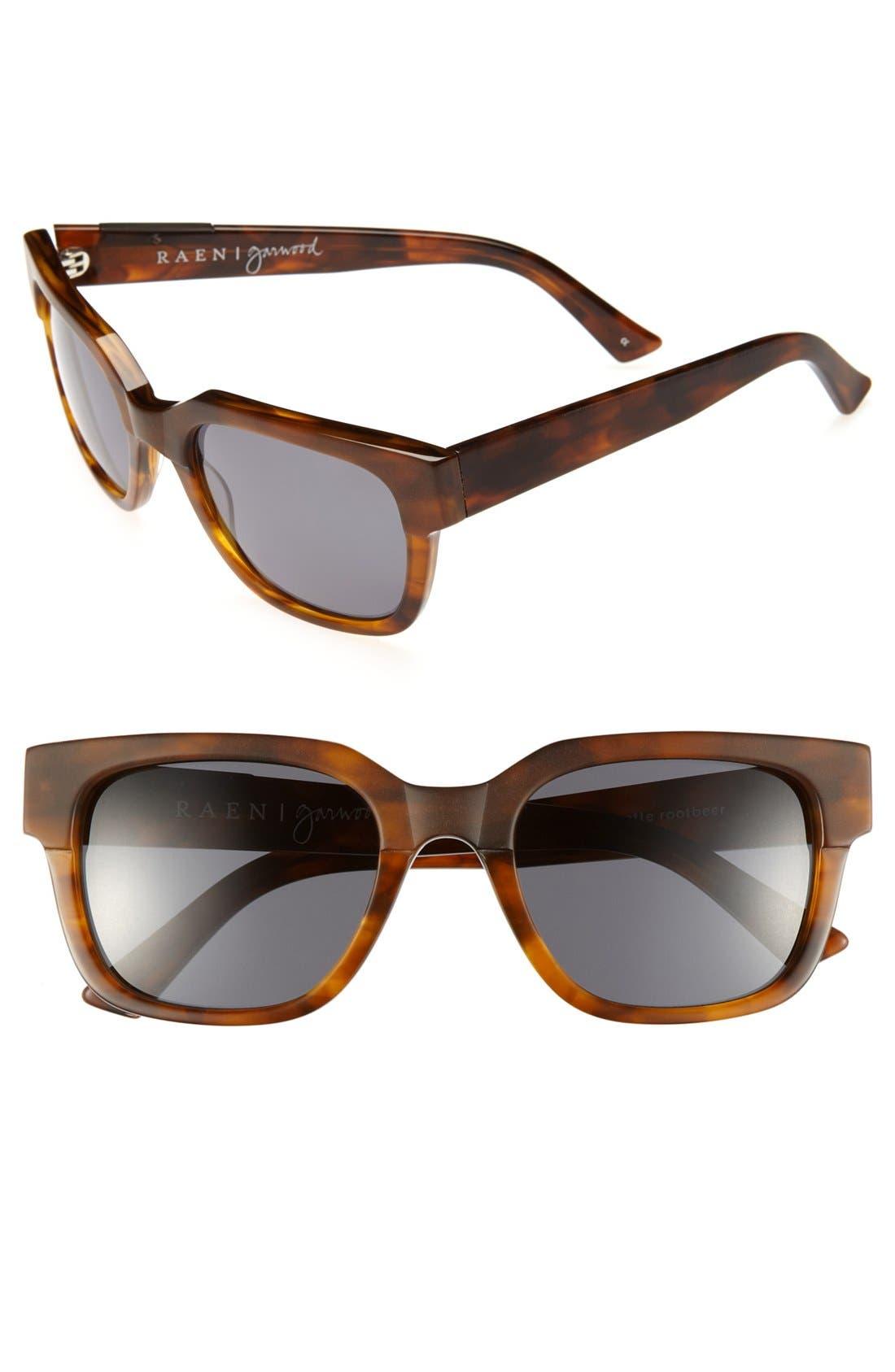 'Garwood' 54mm Polarized Sunglasses, Main, color, 200