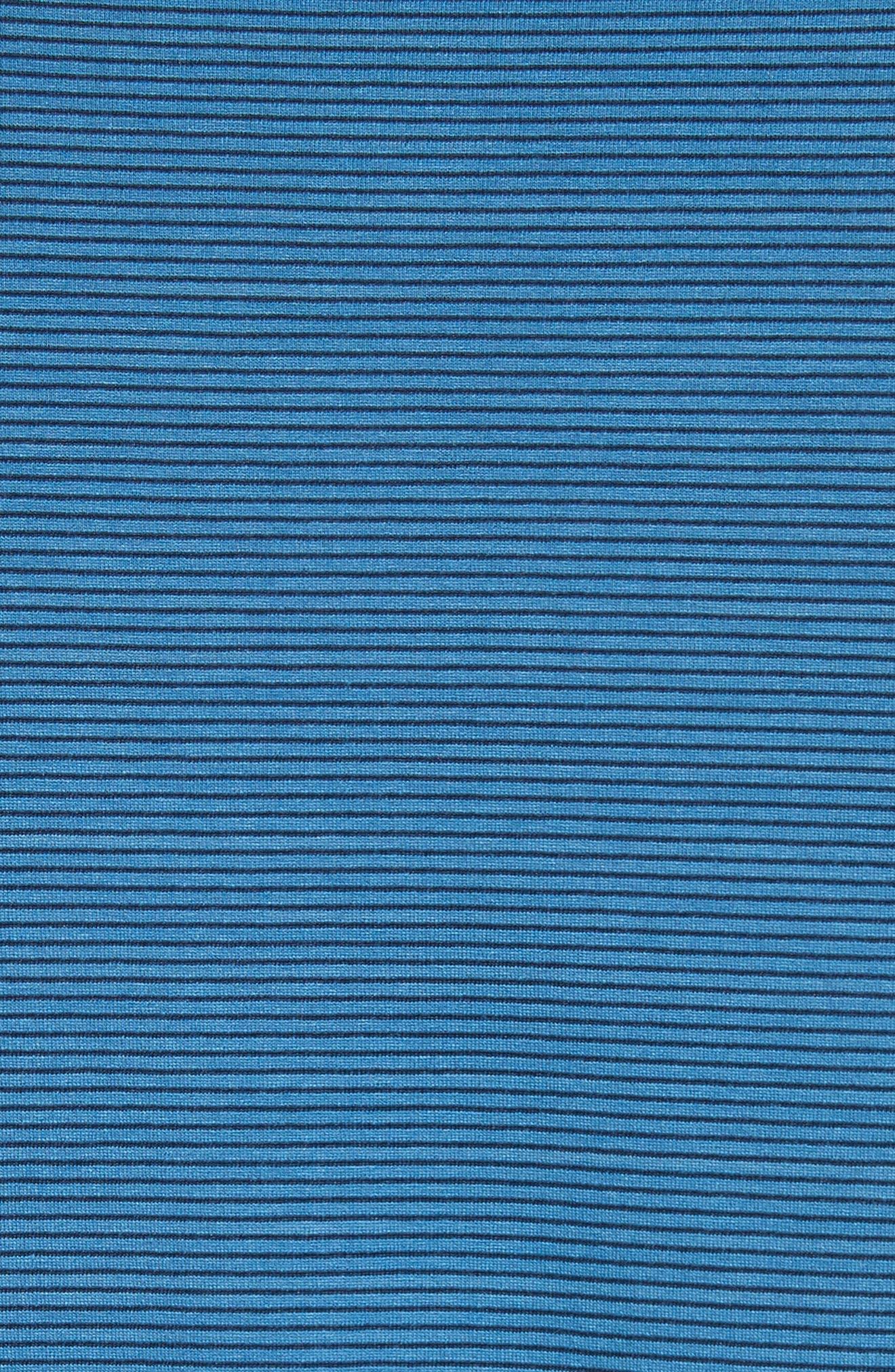 Slim Fit Stripe T-Shirt,                             Alternate thumbnail 5, color,                             400
