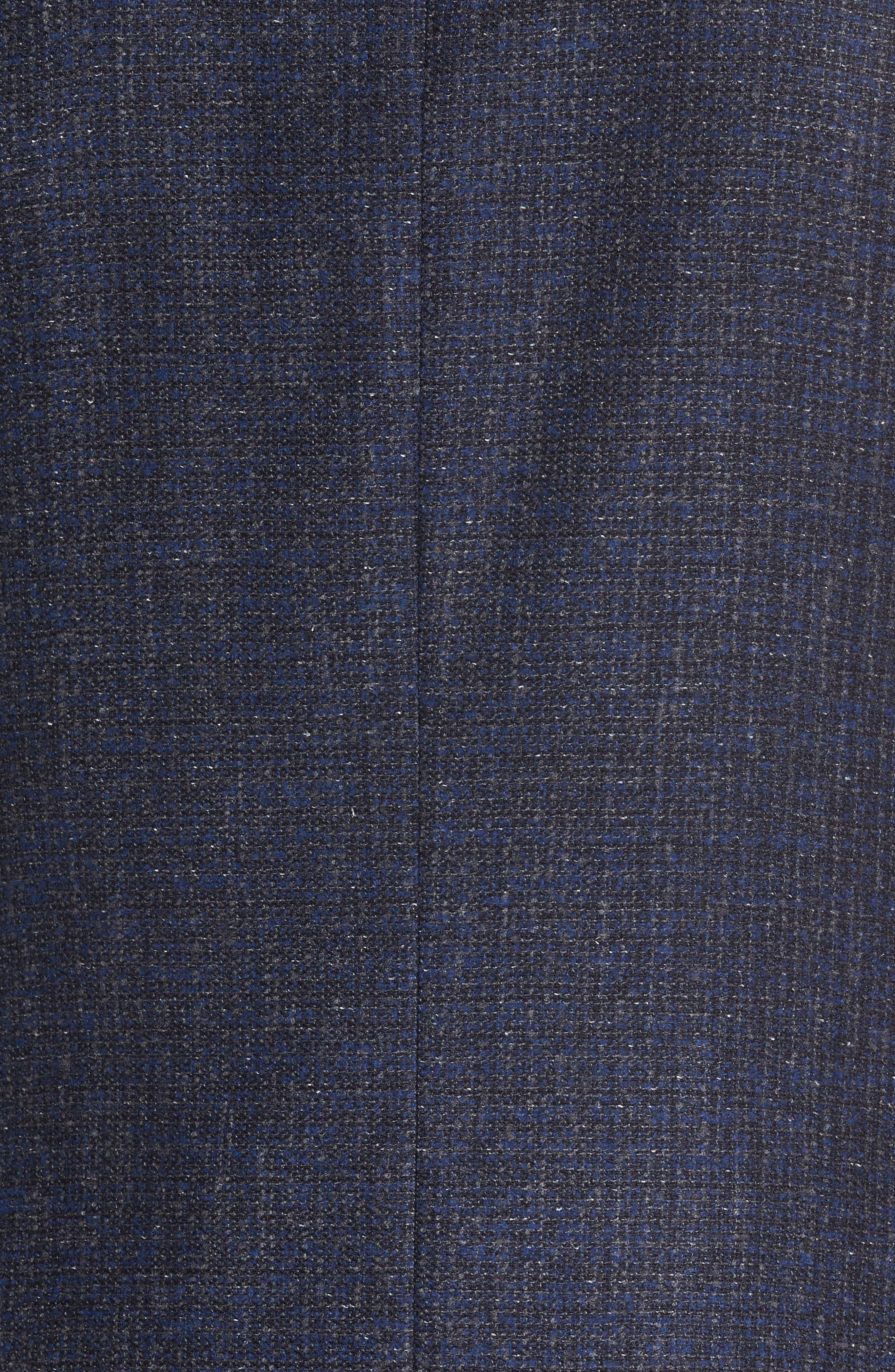 Kyle Trim Fit Wool Blend Blazer,                             Alternate thumbnail 6, color,                             400