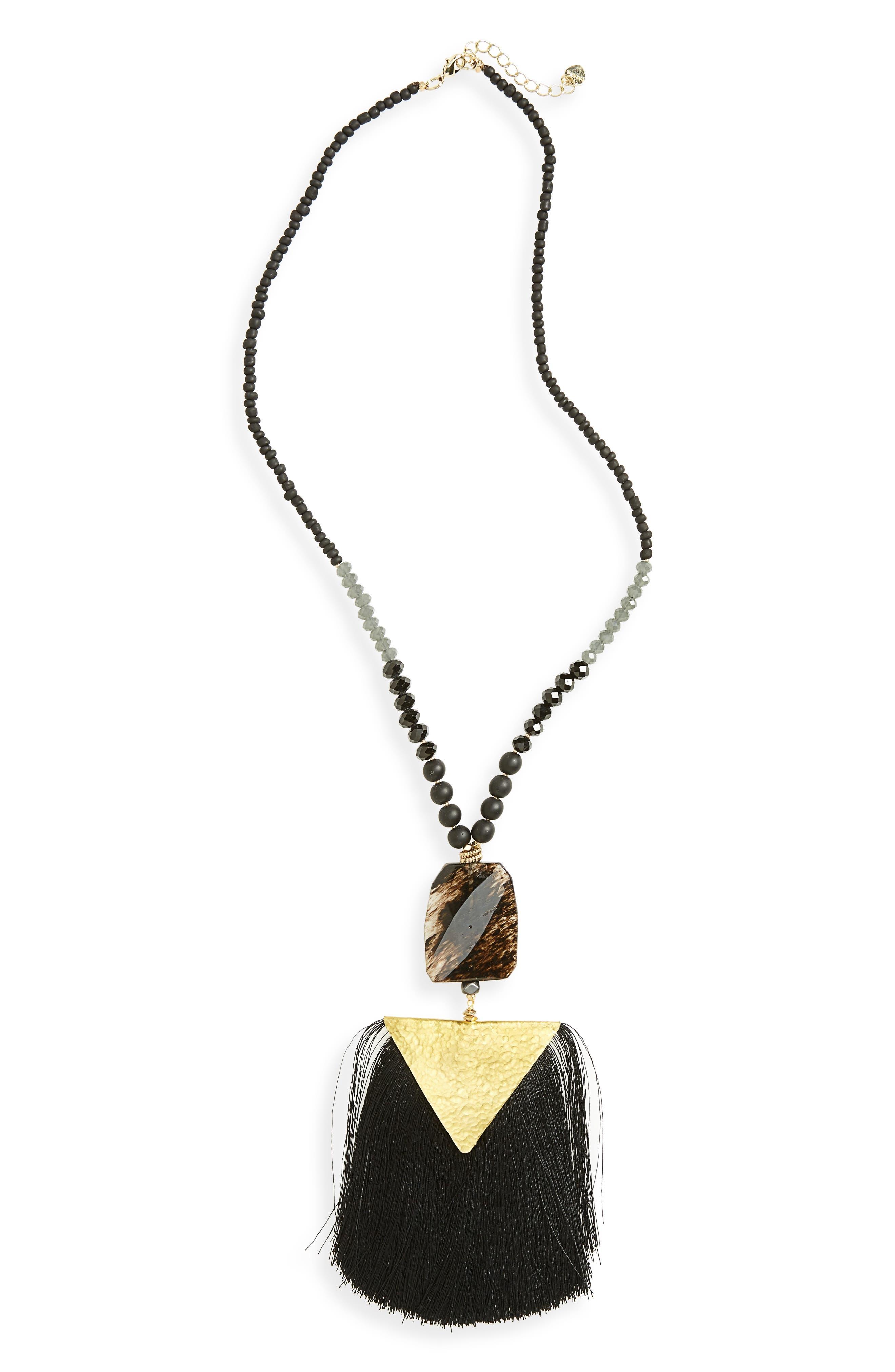 Pendant Necklace,                         Main,                         color, 001