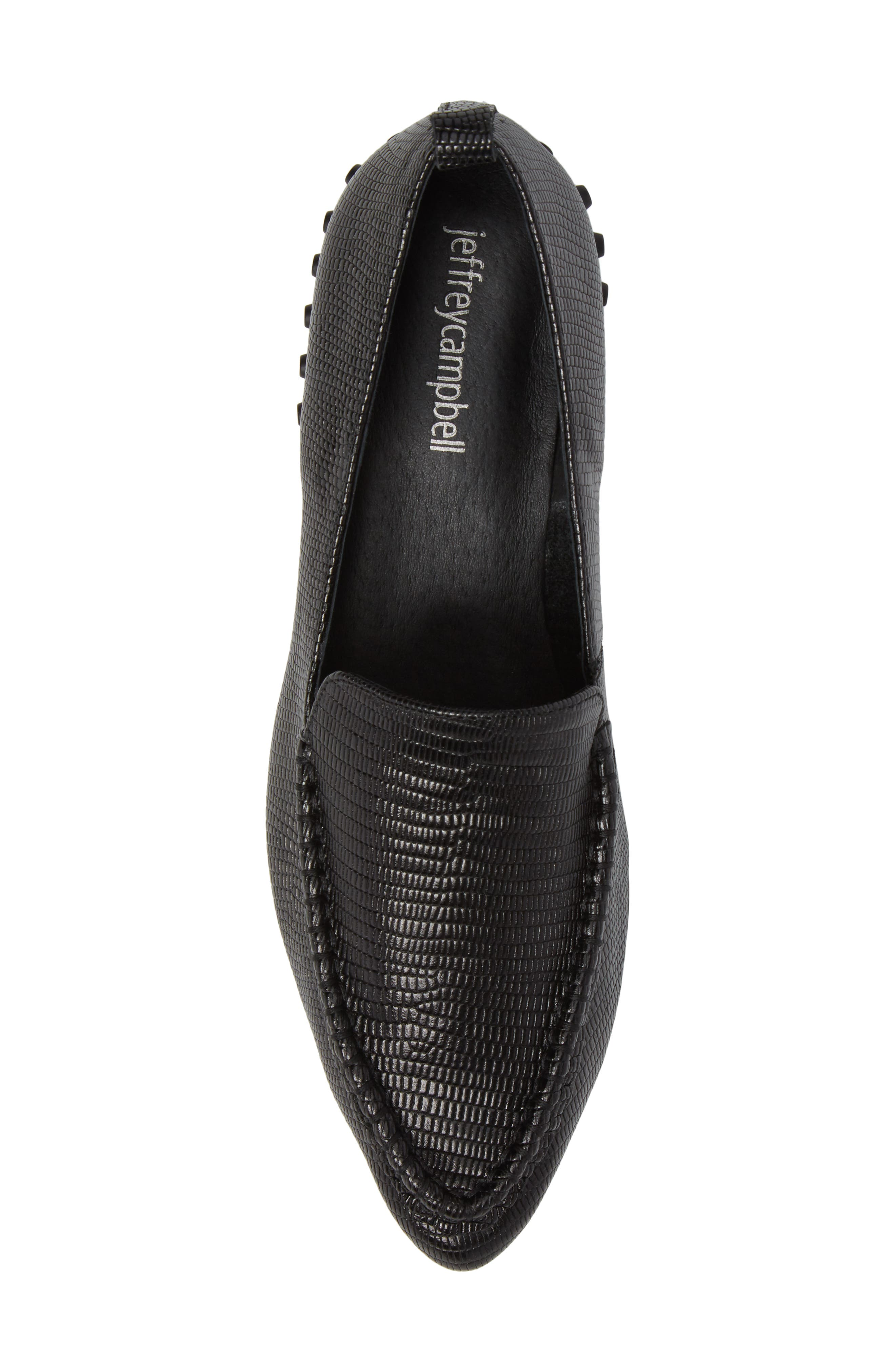 Barnett Studded Loafer,                             Alternate thumbnail 5, color,                             002