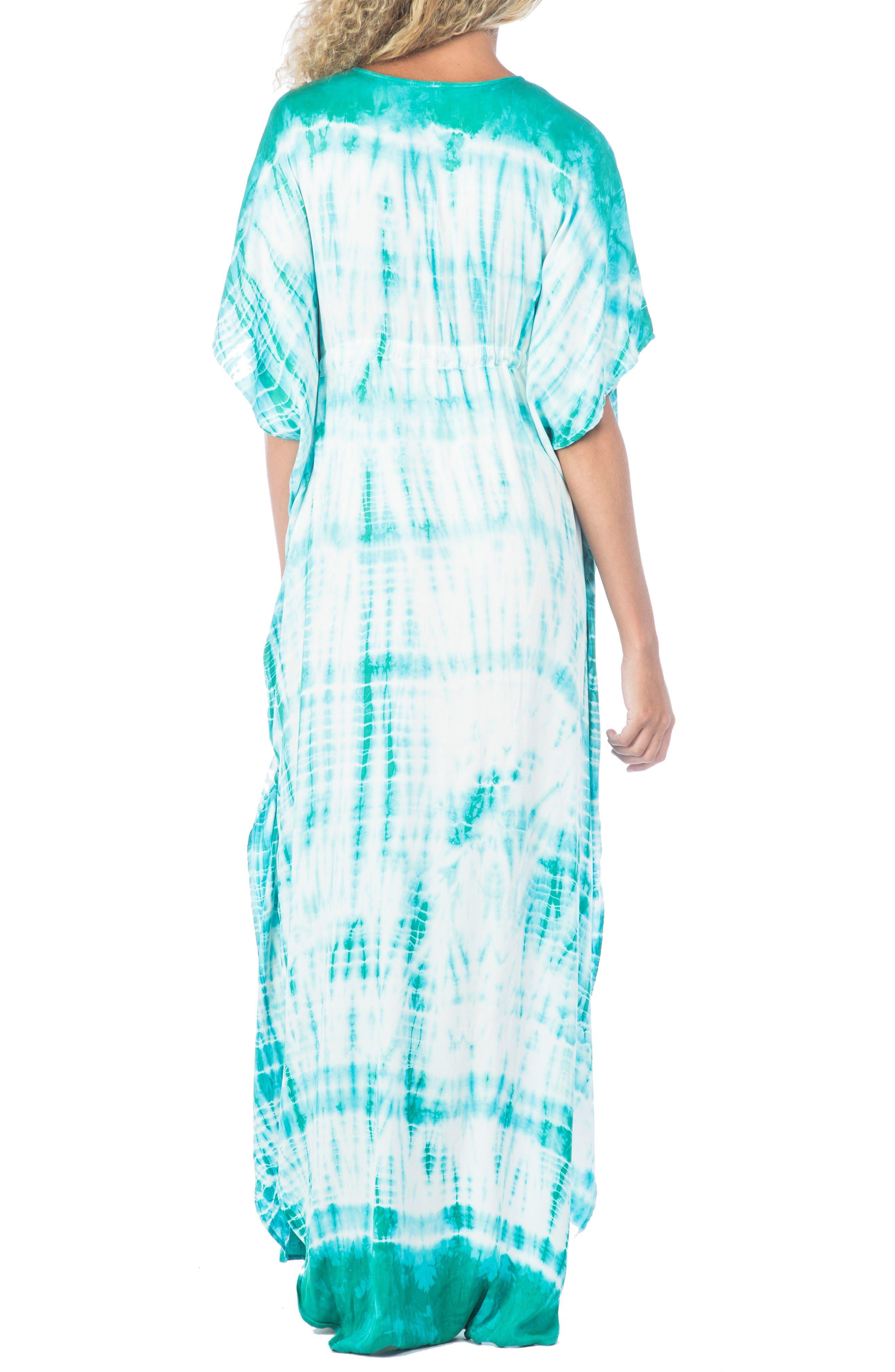 South Beach Tie Dye Ashley Cover-Up Dress,                             Alternate thumbnail 3, color,