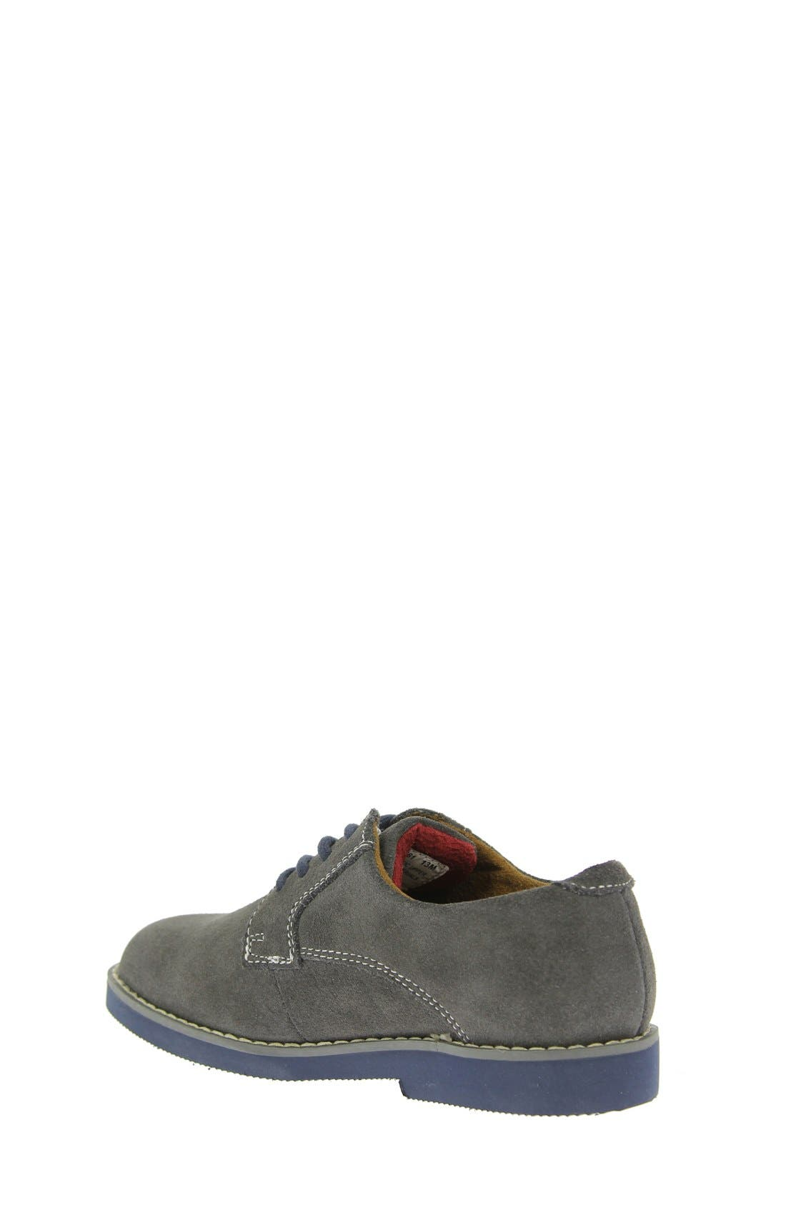 Kearny Two Tone Oxford,                             Alternate thumbnail 10, color,                             GREY/ NAVY SOLE