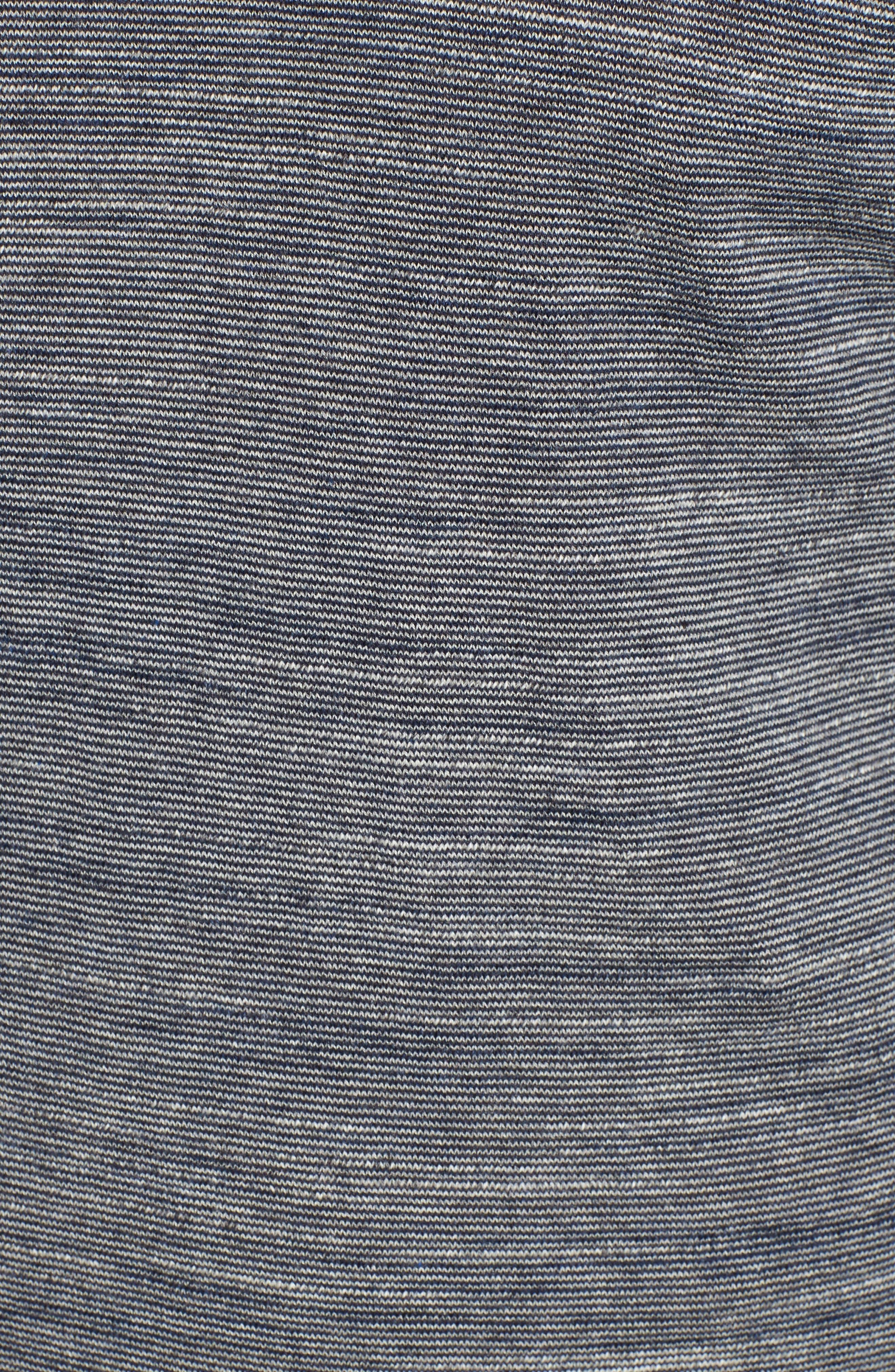 Pintor Slim Fit Fineline Stripe Sweater,                             Alternate thumbnail 10, color,