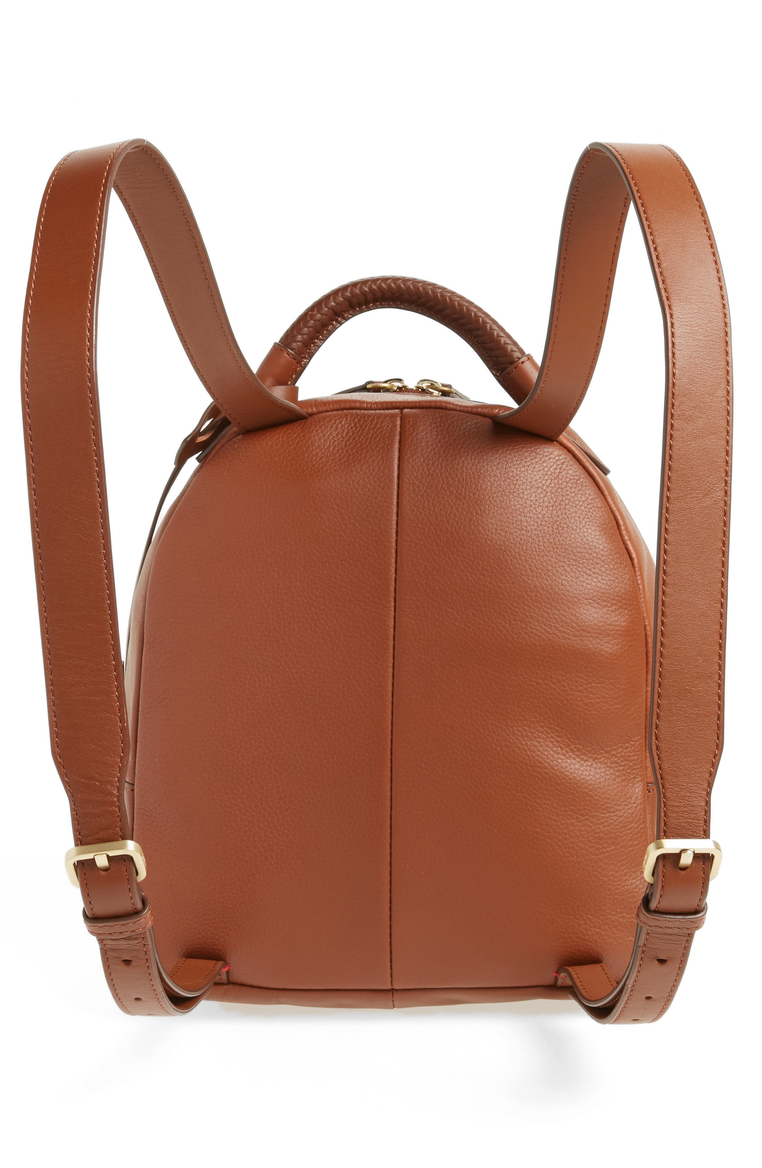 Brody Leather Backpack,                             Alternate thumbnail 3, color,                             242