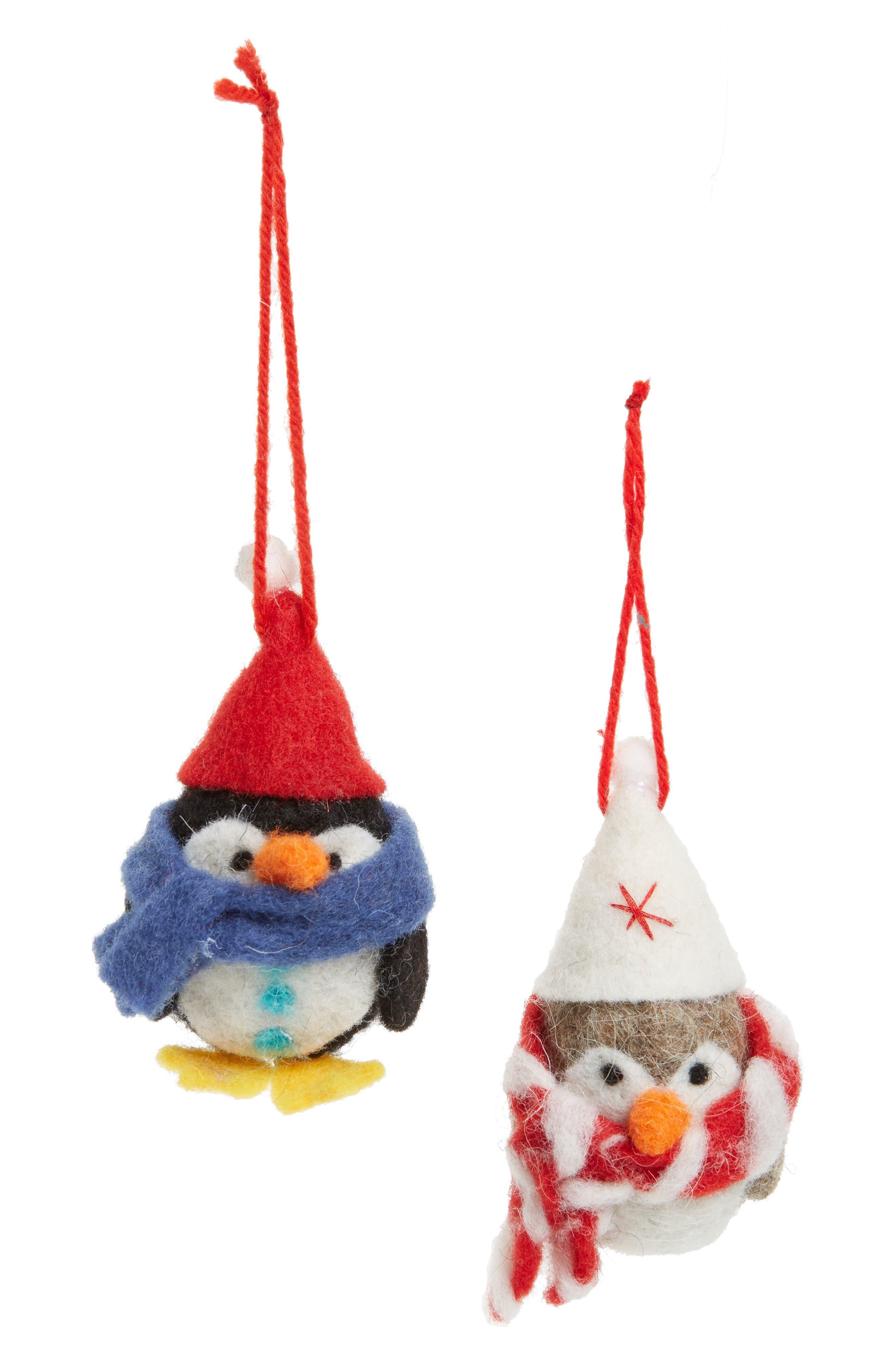 Perfect Pair Set of 2 Ornaments,                         Main,                         color, 030