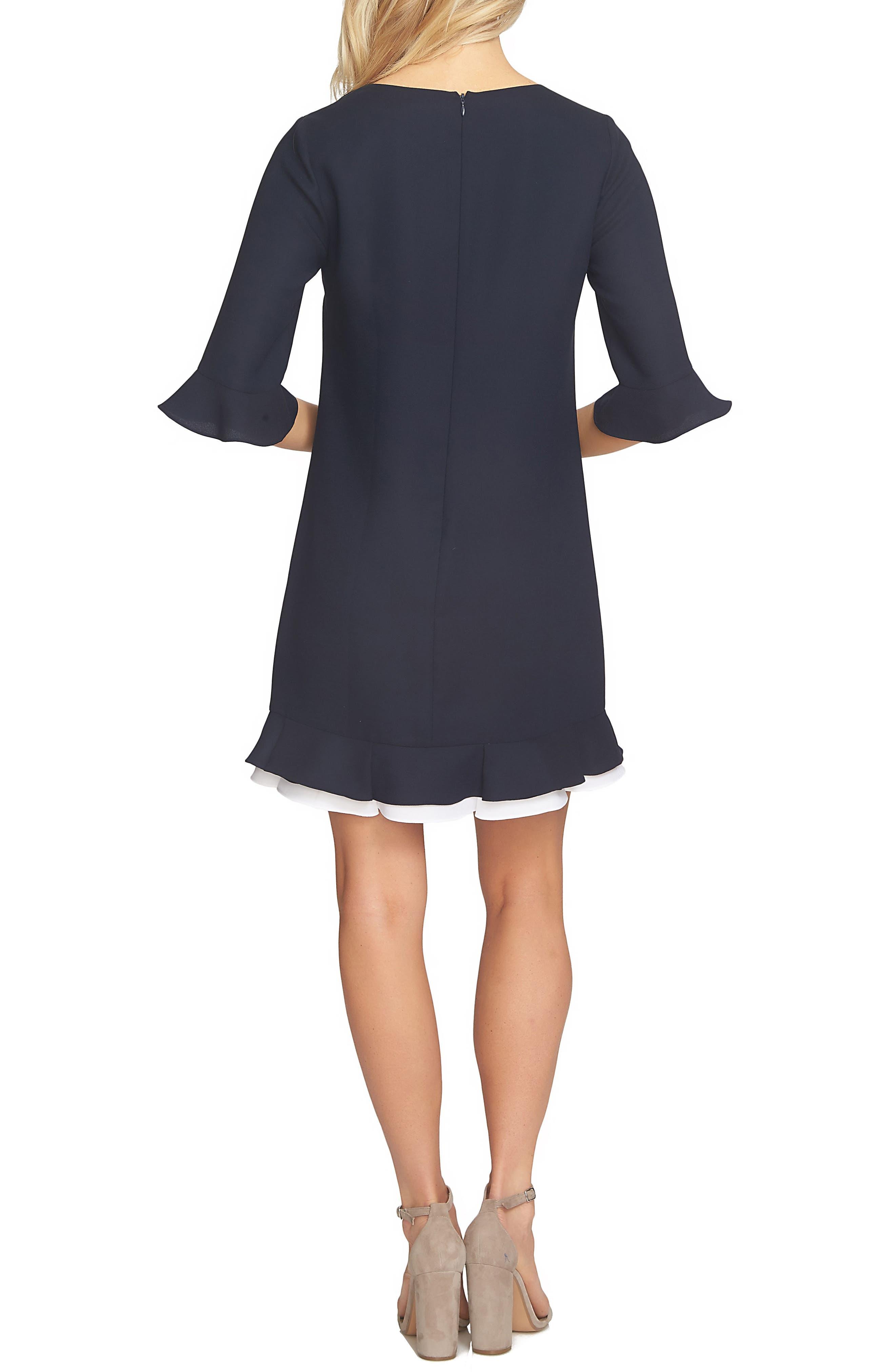 Kate Ruffle Dress,                             Alternate thumbnail 2, color,                             483