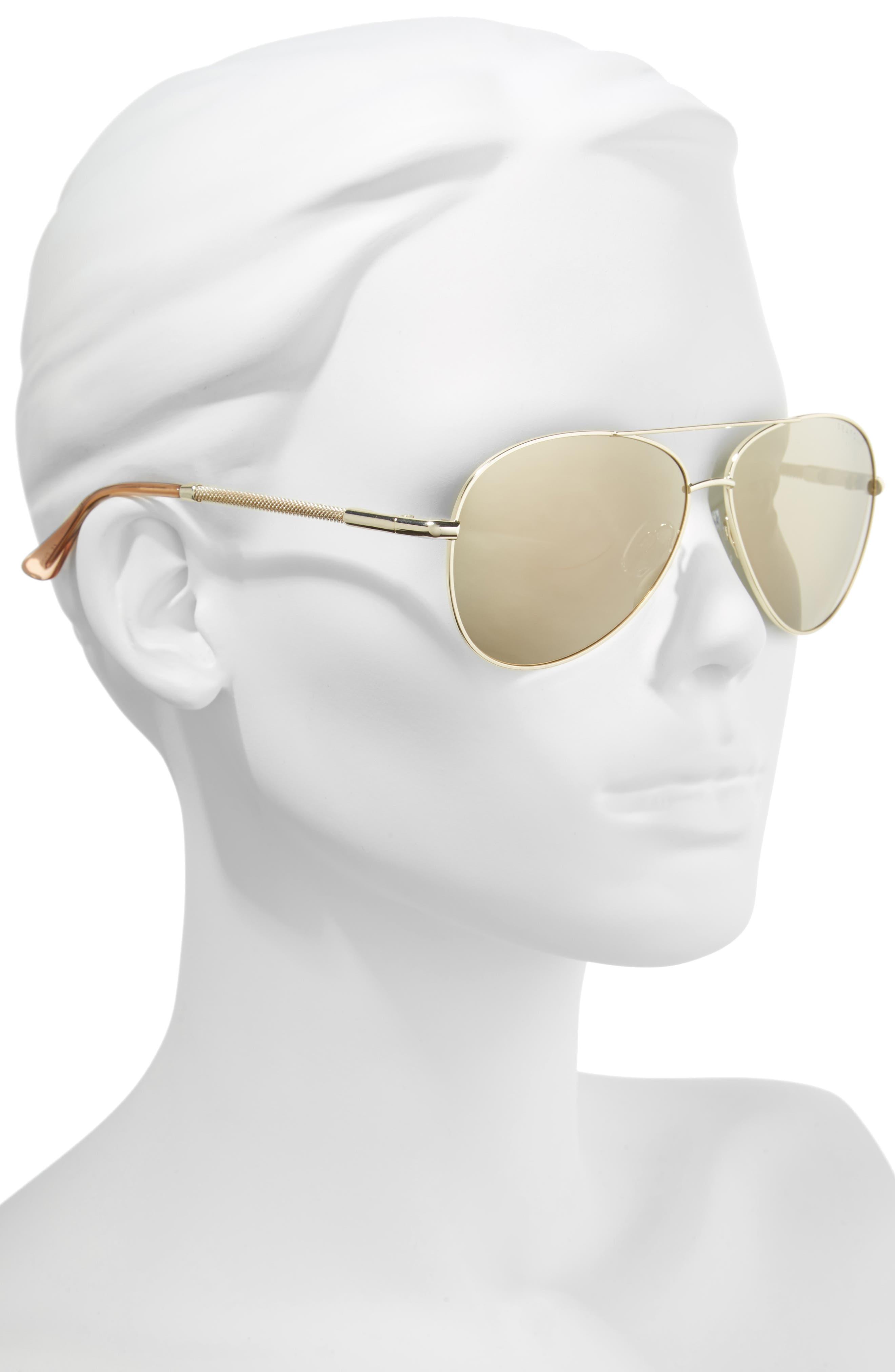 Belize 59mm Aviator Sunglasses,                             Alternate thumbnail 2, color,