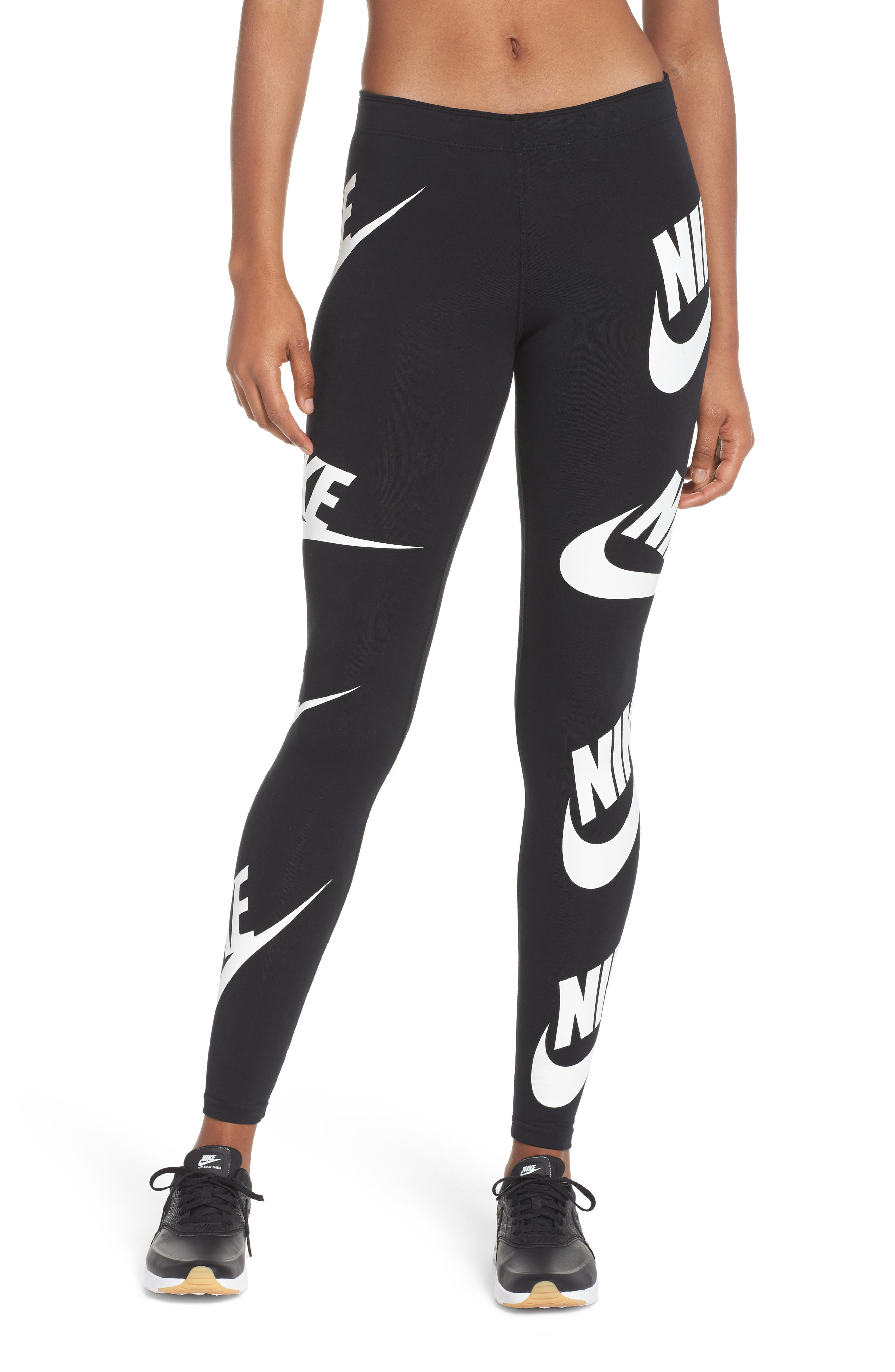 Sportswear Graphic Leggings,                             Main thumbnail 2, color,