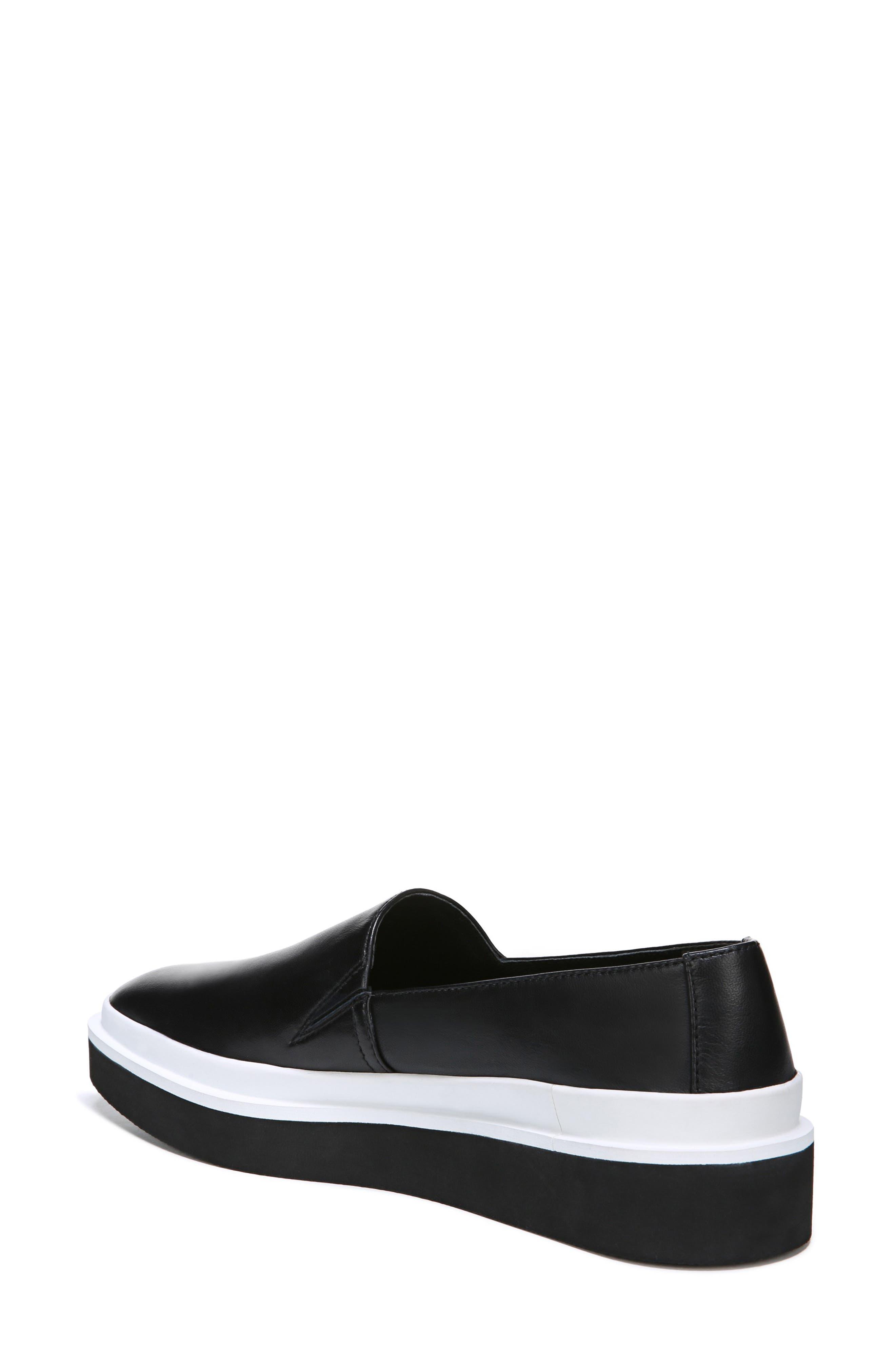 Travis Slip-on Sneaker,                             Alternate thumbnail 2, color,                             BLACK