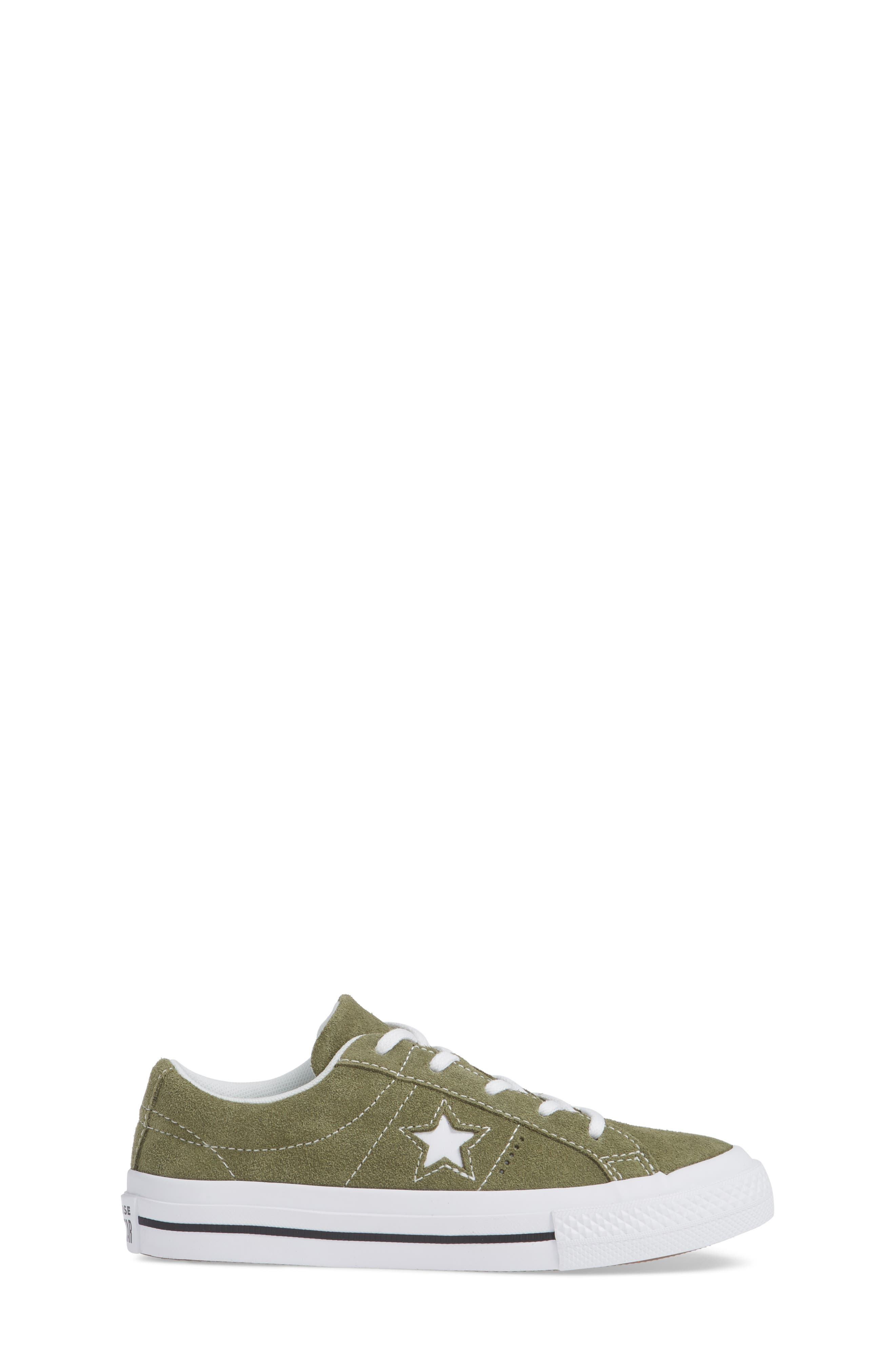 One Star Vintage Suede Low Top Sneaker,                             Alternate thumbnail 3, color,                             322