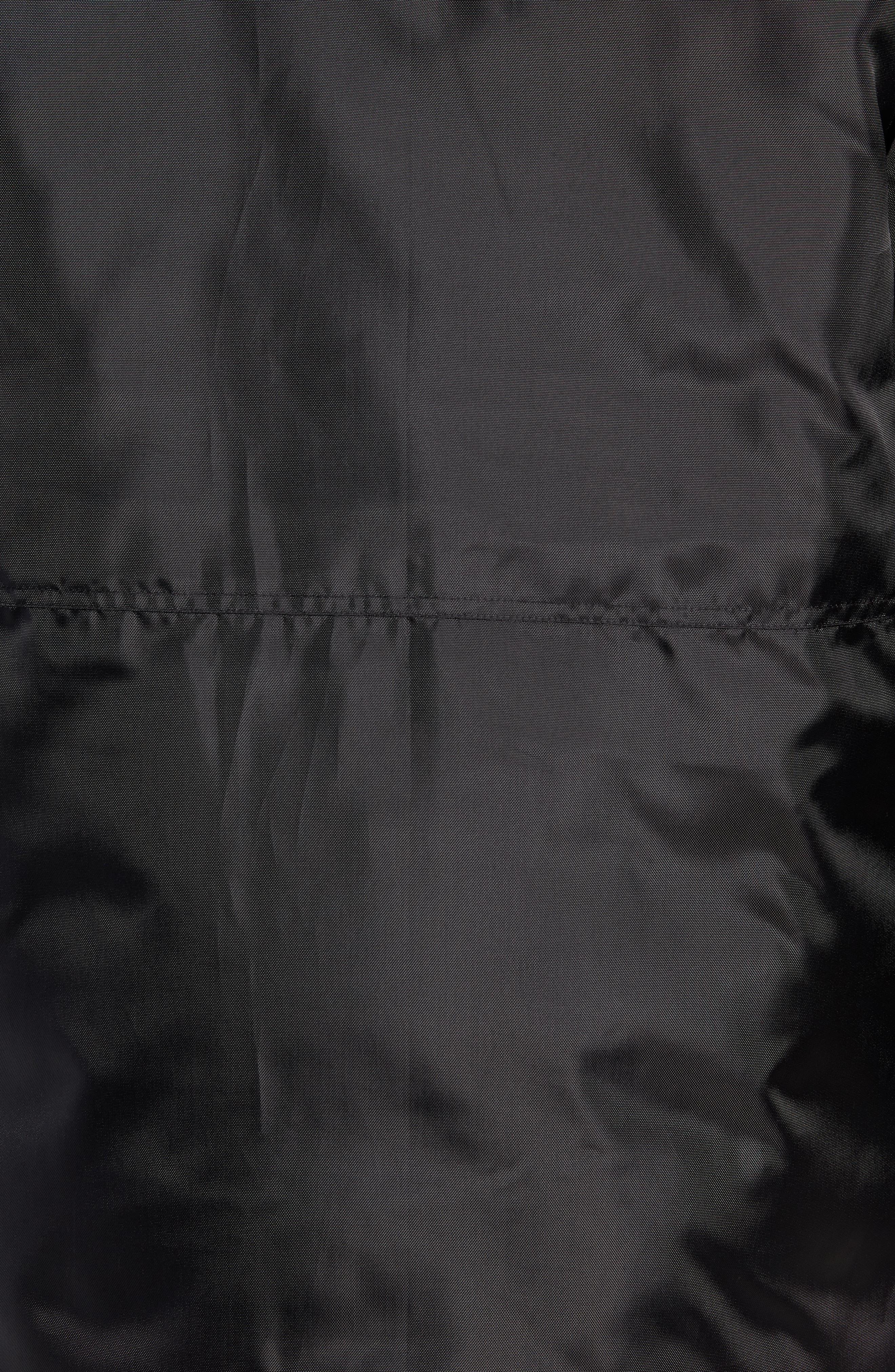 MARC NEW YORK,                             Lafayette Genuine Fur Trim Hooded Parka,                             Alternate thumbnail 7, color,                             BLACK
