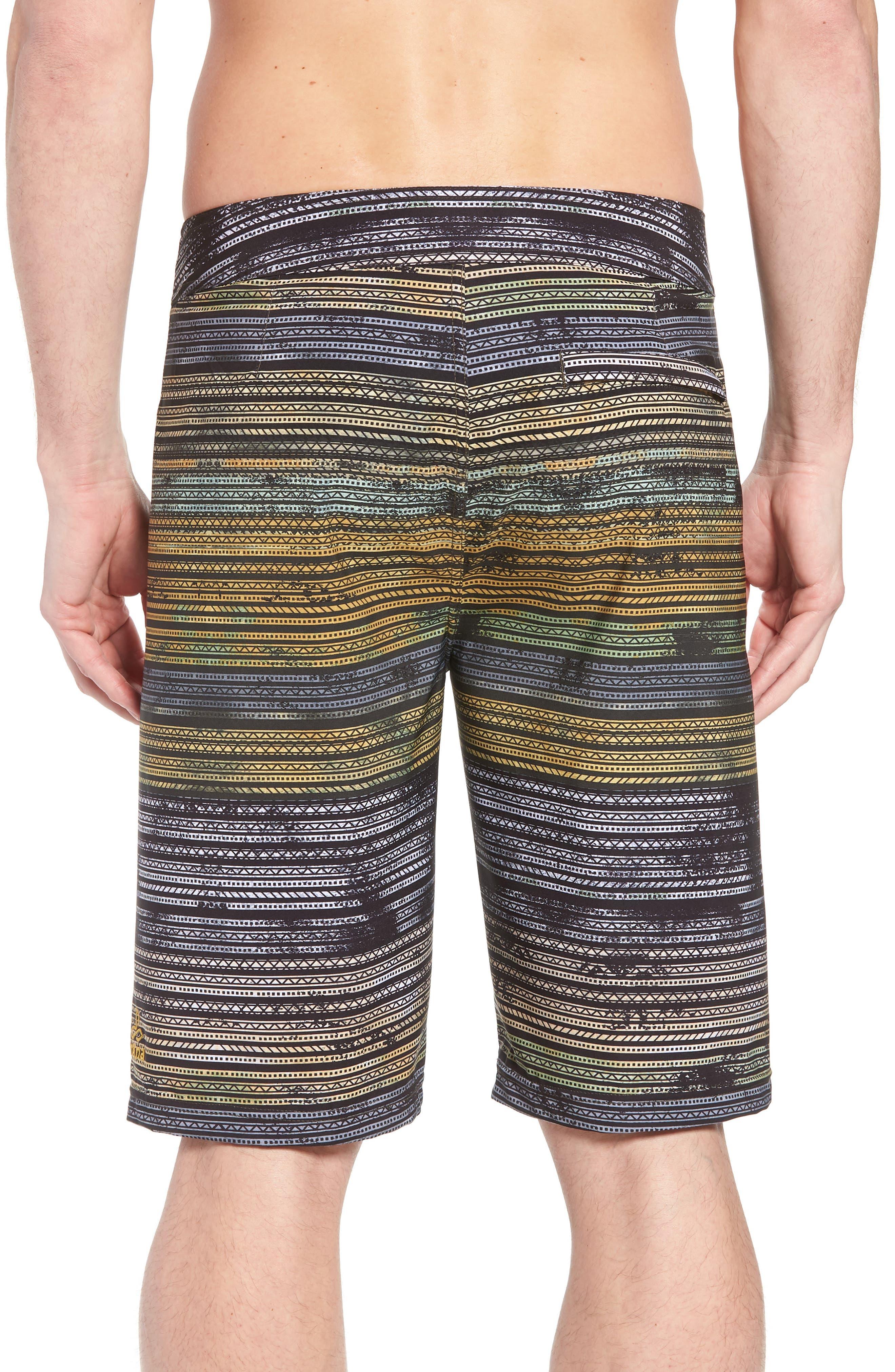 'Sediment' Stretch Board Shorts,                             Alternate thumbnail 23, color,