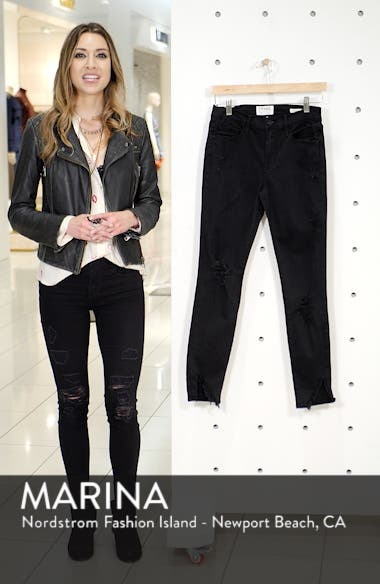 Le Skinny de Jeanne Ripped Skinny Jeans, sales video thumbnail