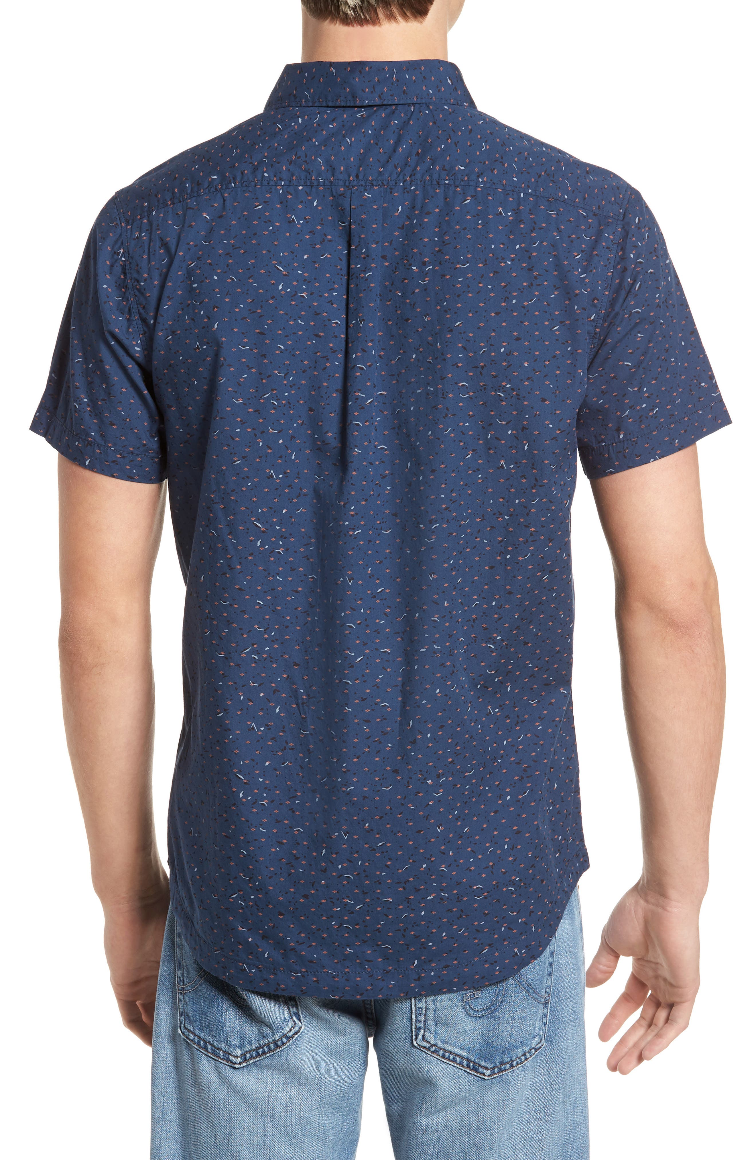 Jaded Woven Shirt,                             Alternate thumbnail 2, color,                             487