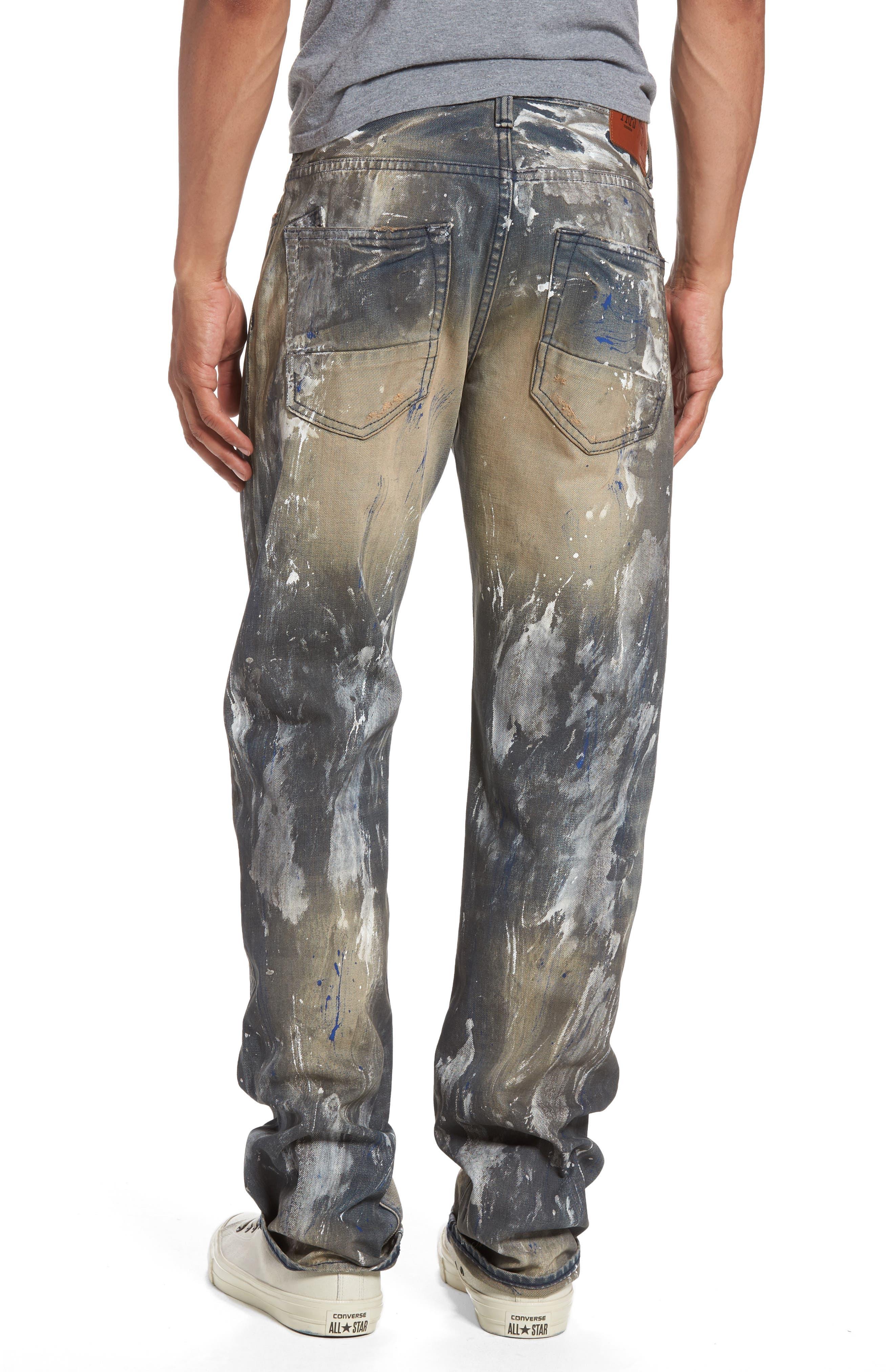 Barracuda Straight Leg Jeans,                             Alternate thumbnail 2, color,                             490