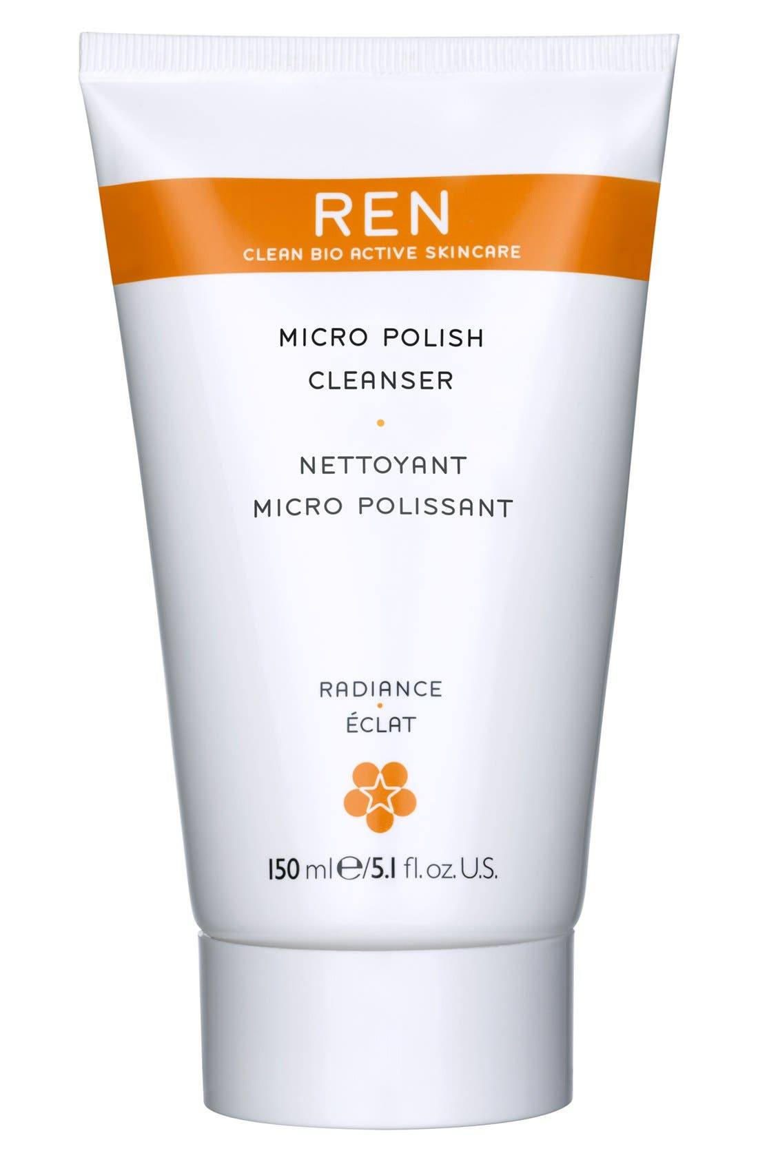 SPACE.NK.apothecary REN Micro Polish Cleanser,                             Main thumbnail 1, color,                             000
