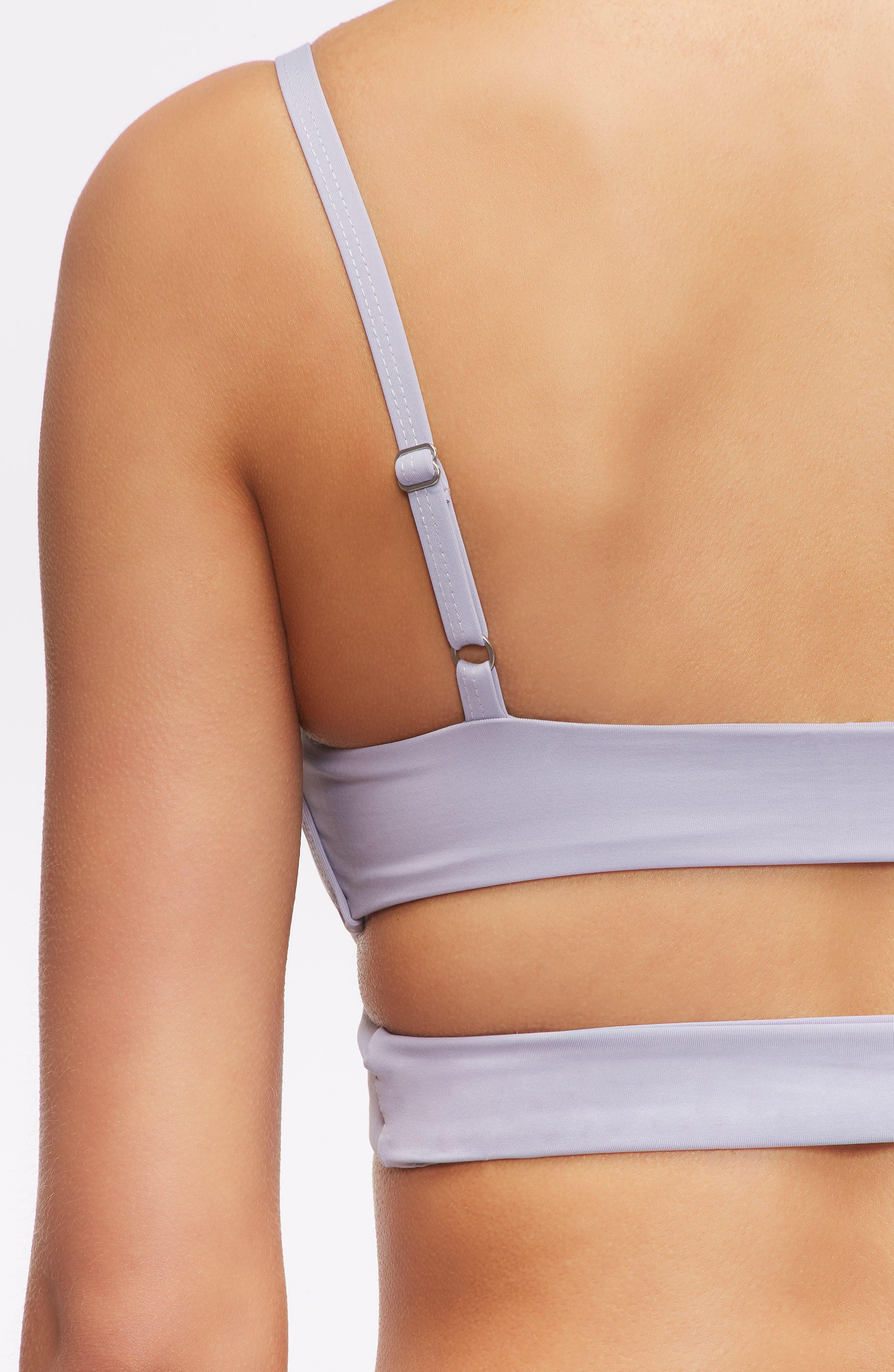 'Jessi' Cutout Triangle Bikini Top,                             Alternate thumbnail 38, color,