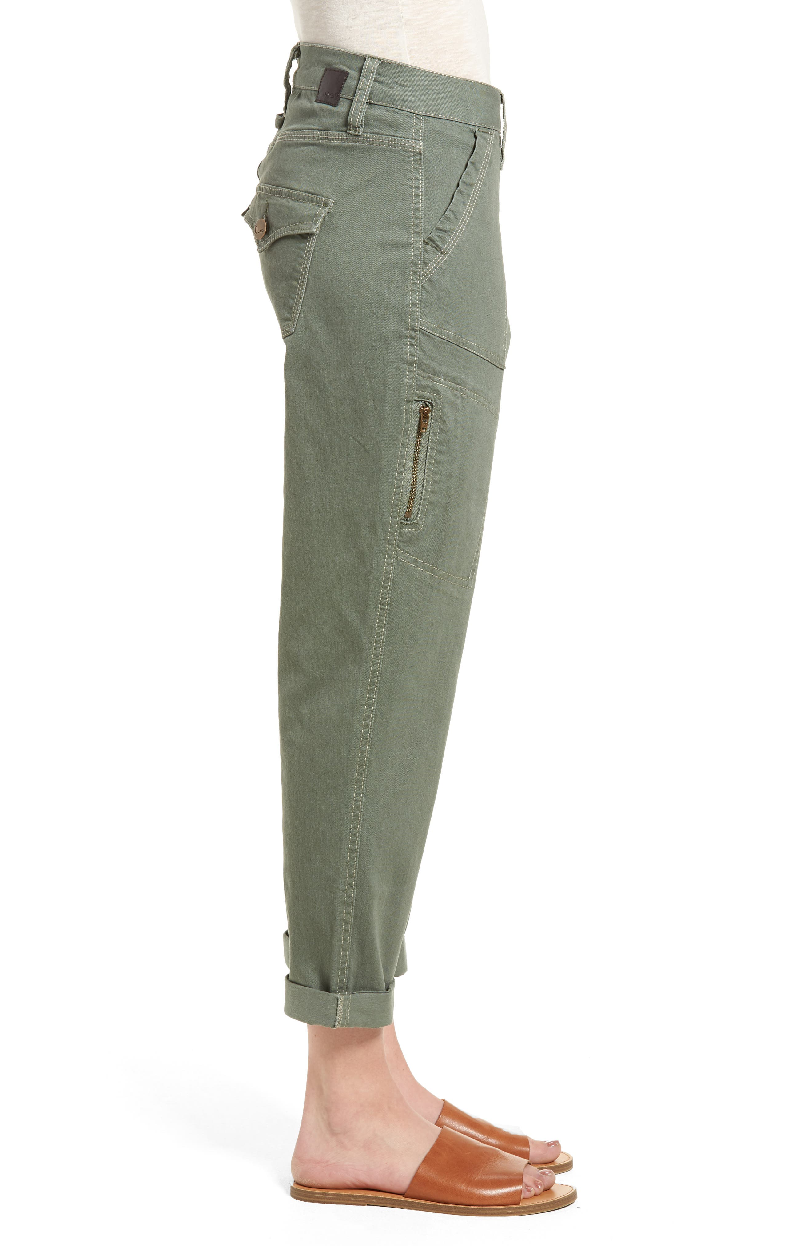 Gable Stretch Twill Utility Pants,                             Alternate thumbnail 11, color,