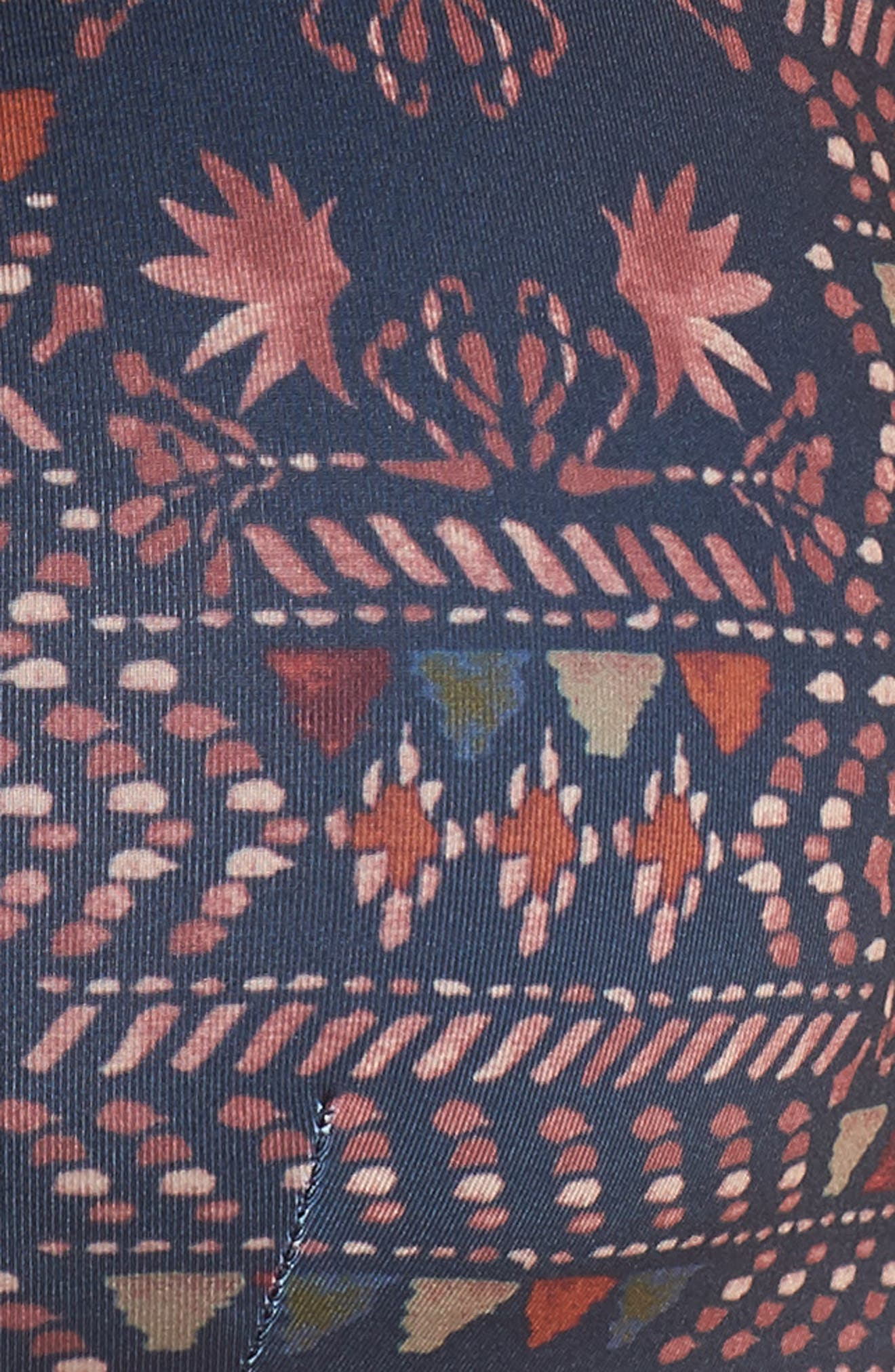 Bottom Turn Bikini Top,                             Alternate thumbnail 5, color,                             FIRESIDE: NAVY BLUE