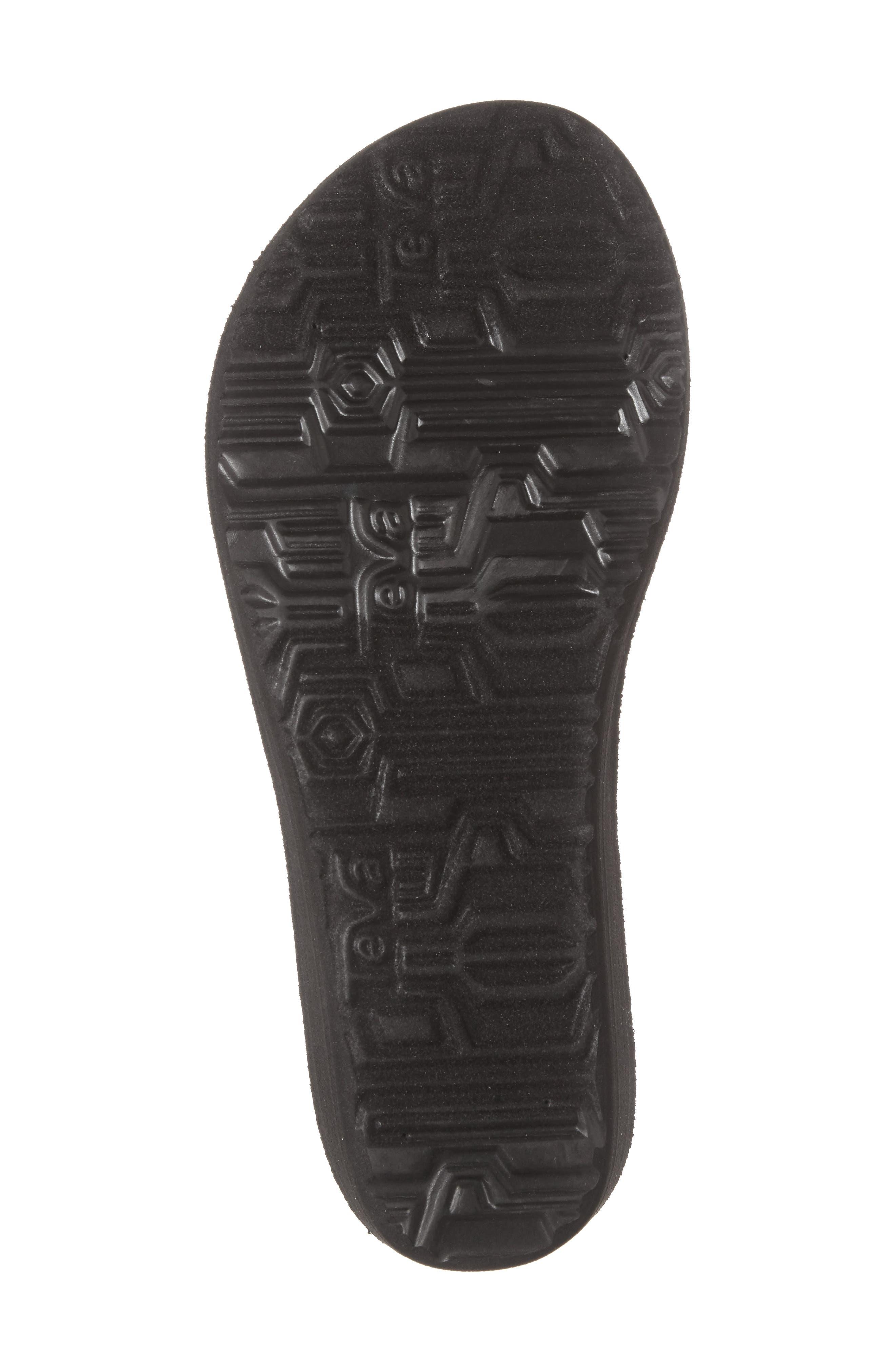 Mush Mandalyn II Wedge Sandal,                             Alternate thumbnail 4, color,                             018