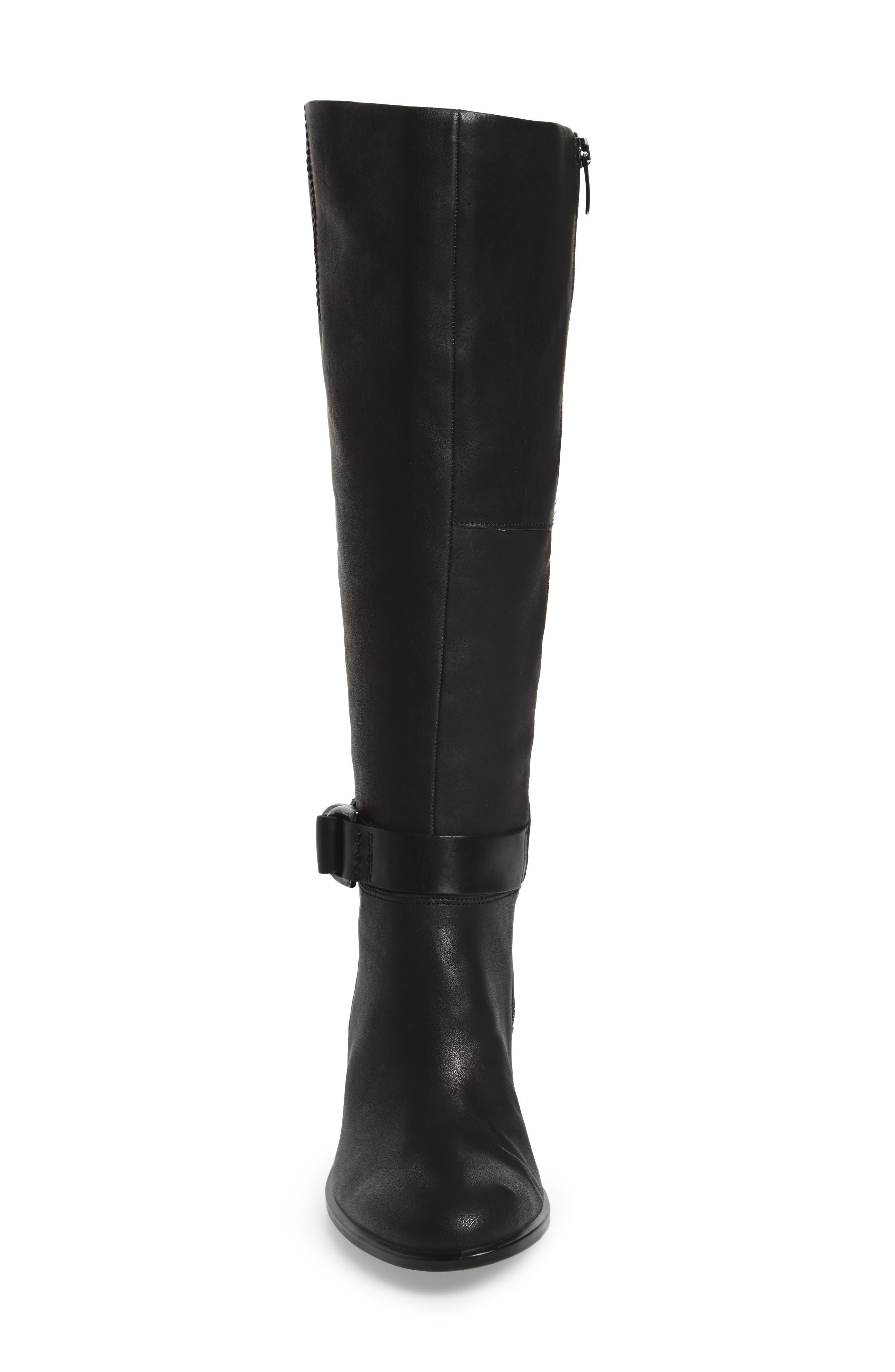 Shape 55 Tall Boot,                             Alternate thumbnail 4, color,                             001