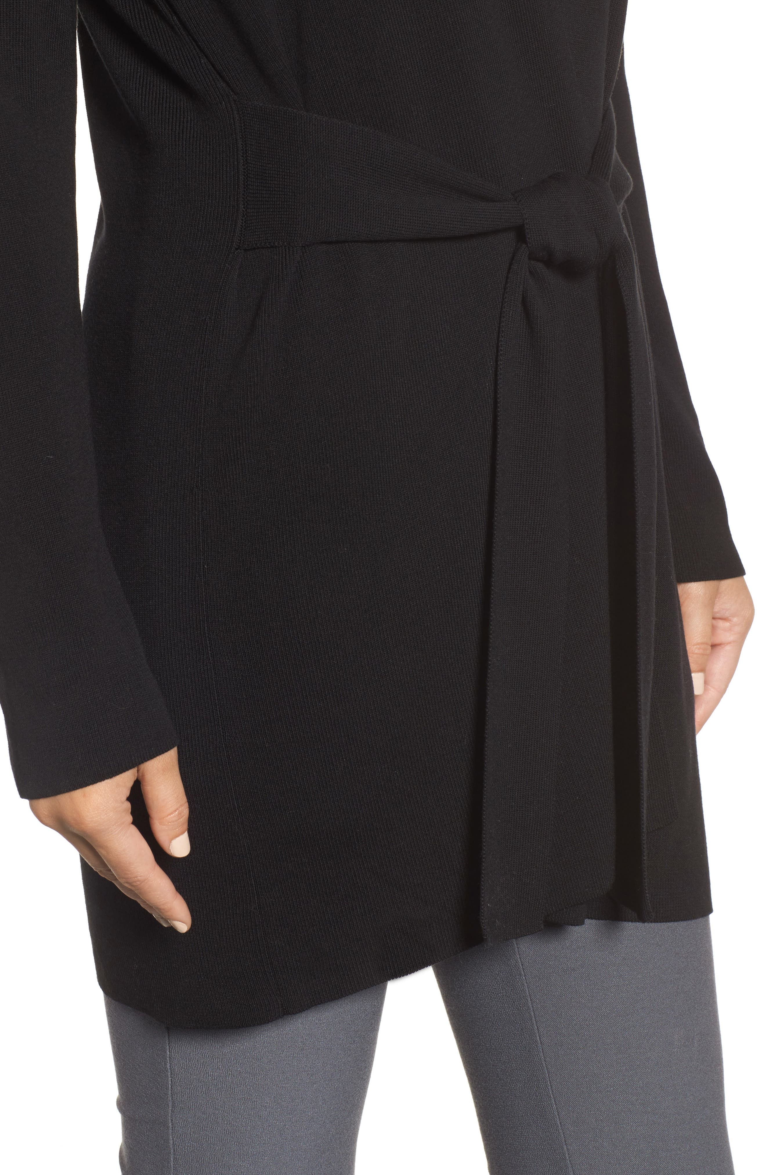 Long Belted Cardigan,                             Alternate thumbnail 13, color,