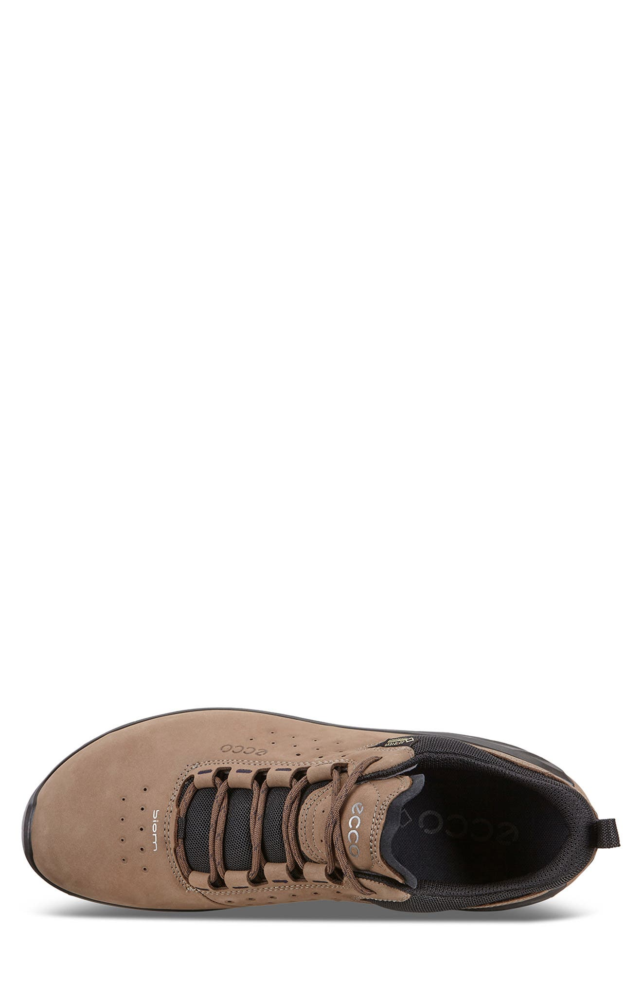 Biom Venture GTX Sneaker,                             Alternate thumbnail 3, color,                             BIRCH BROWN LEATHER