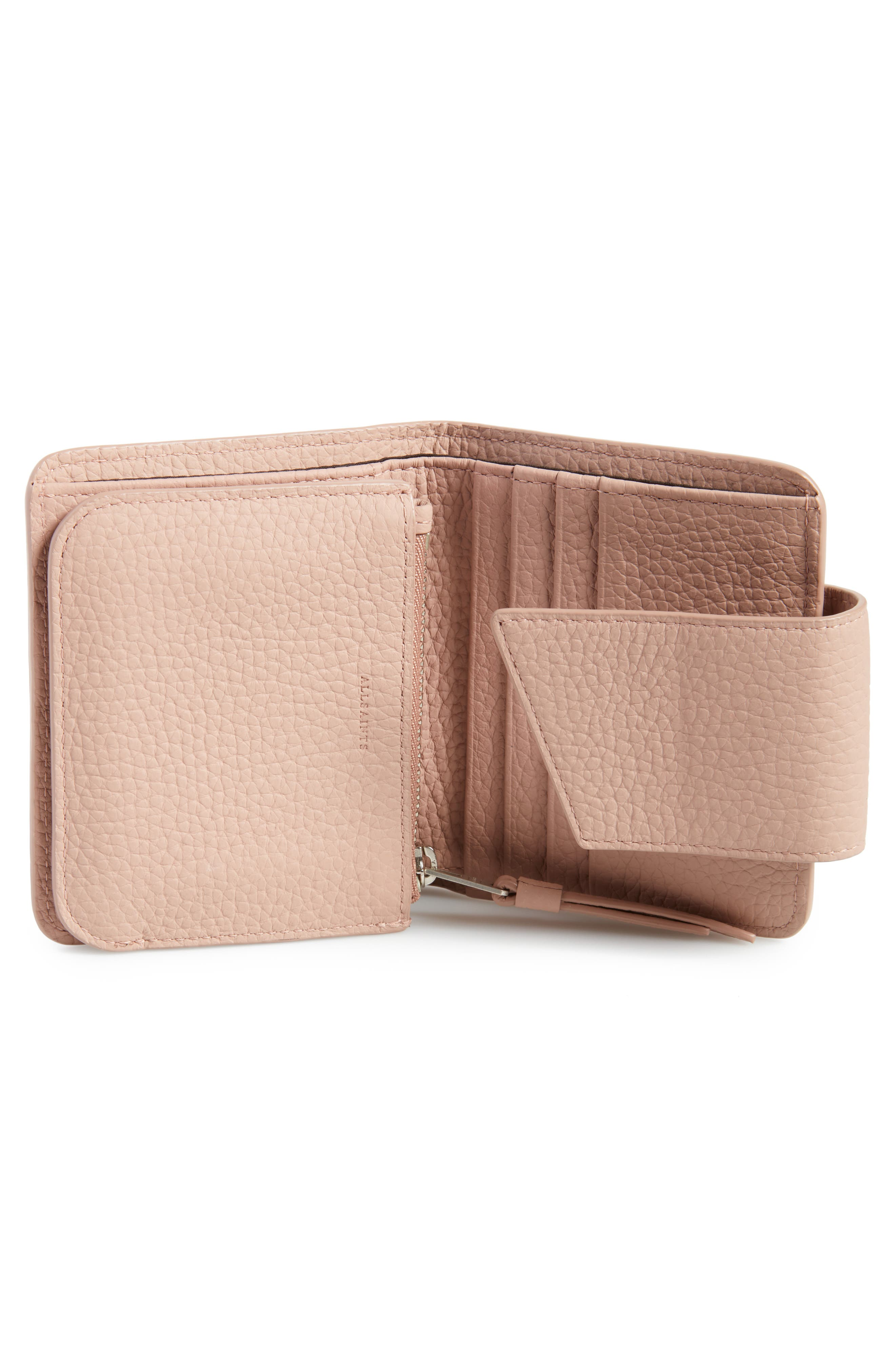 Small Ray Leather Wallet,                             Alternate thumbnail 8, color,